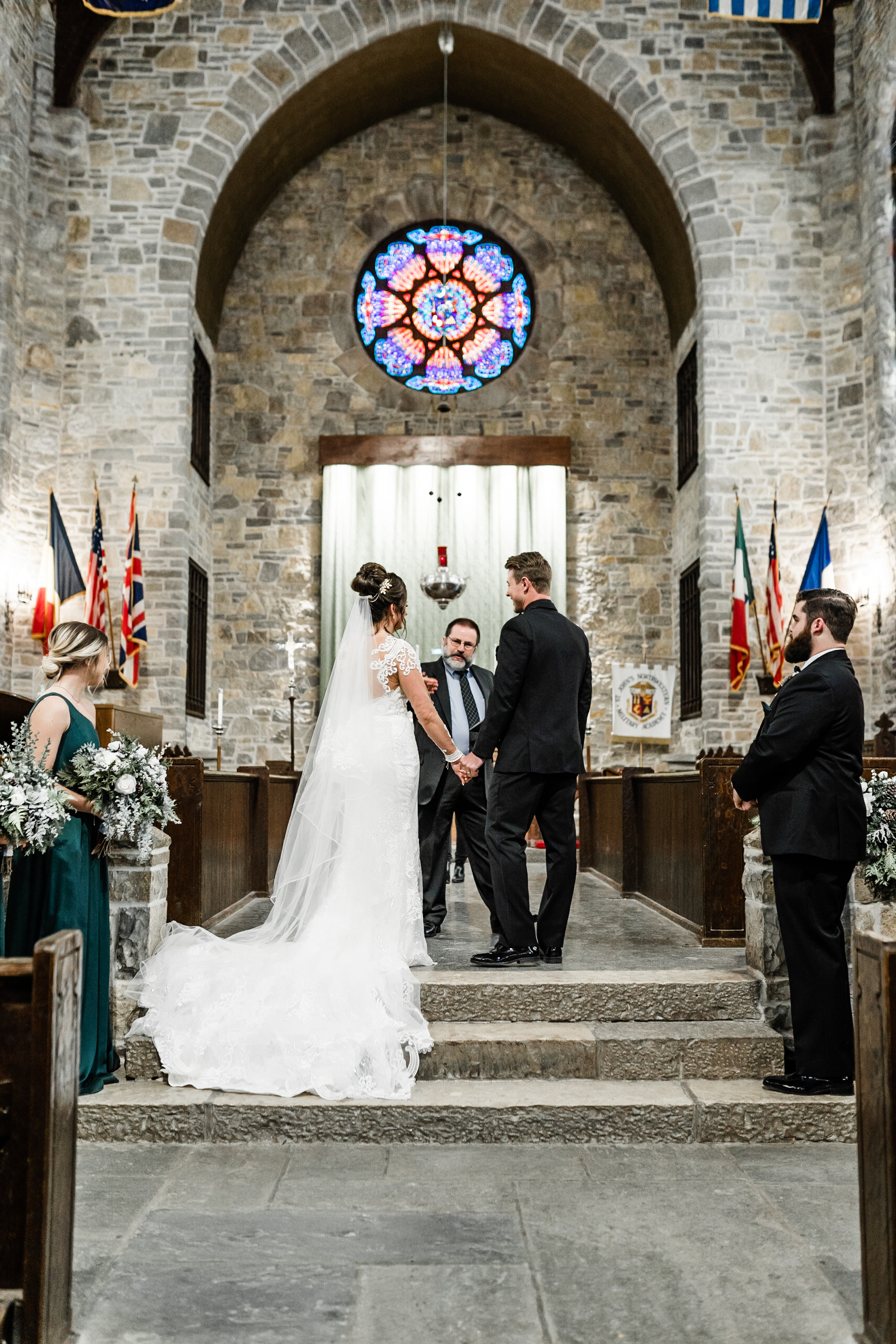 Church ceremony wedding