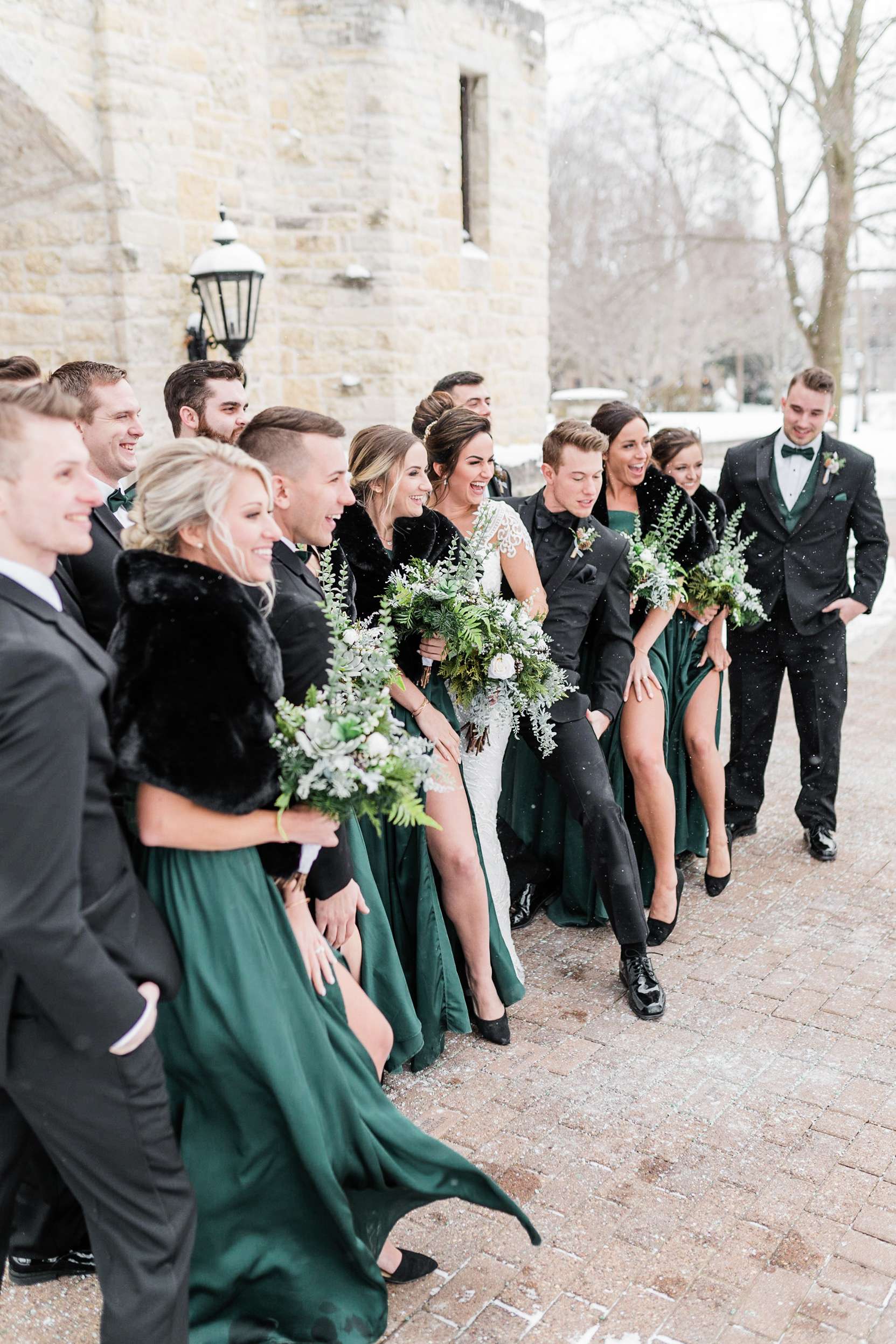 Wisconsin Winter Wedding Gavyn Taylor Photo Chicago Wedding Photographer