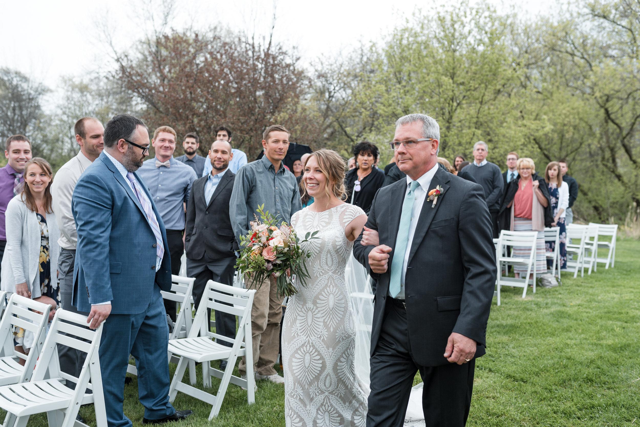 ridle Barn and Gardens Wedding