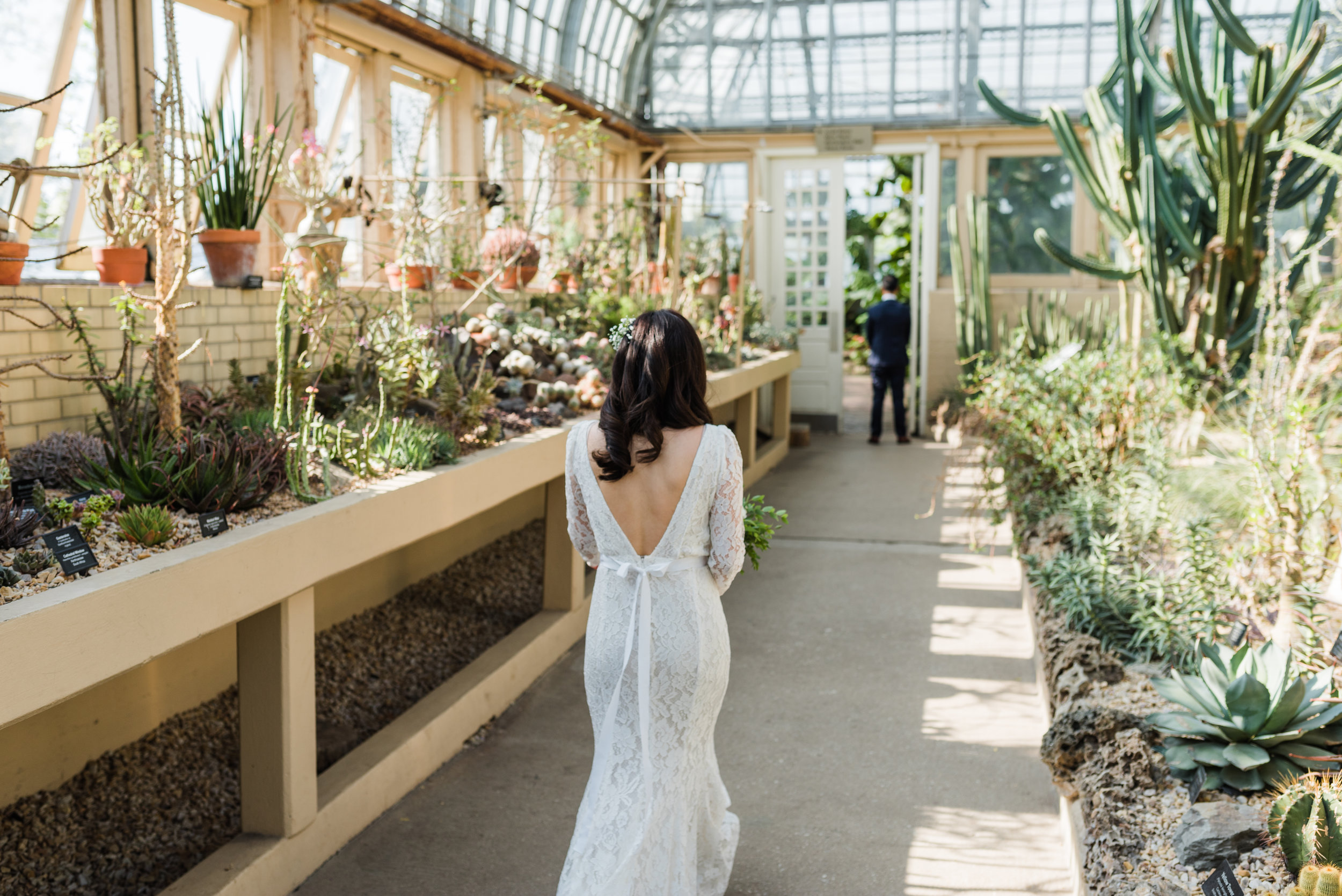 Garfield Park Conservatory Chicago Wedding