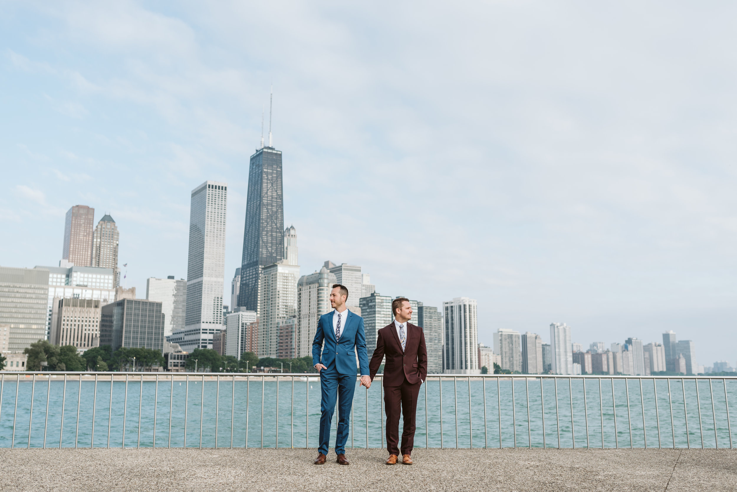 Olive Park Chicago Engagement Session