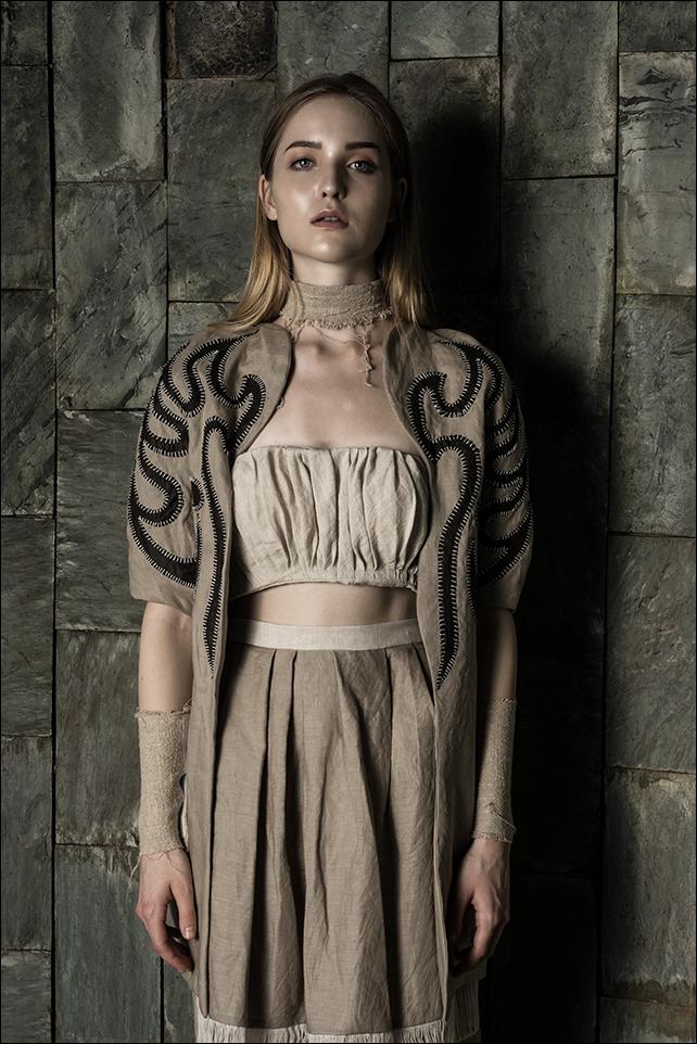 Collection by MDIS student, Meta  Model: Viktoria / Upfront Models