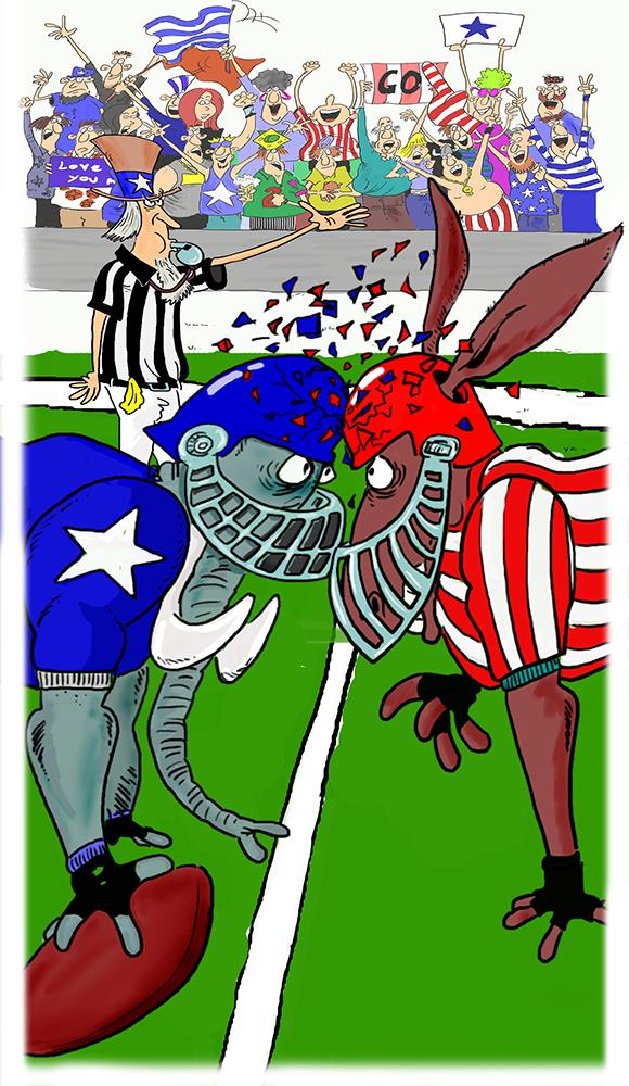 politics as football