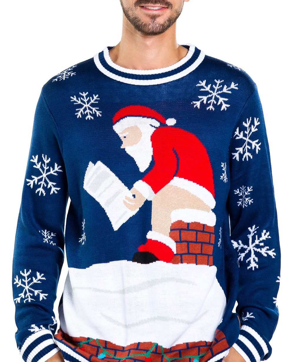 Mens-santa-log-on-fire-ugly-christmas-sweater01.Jpg