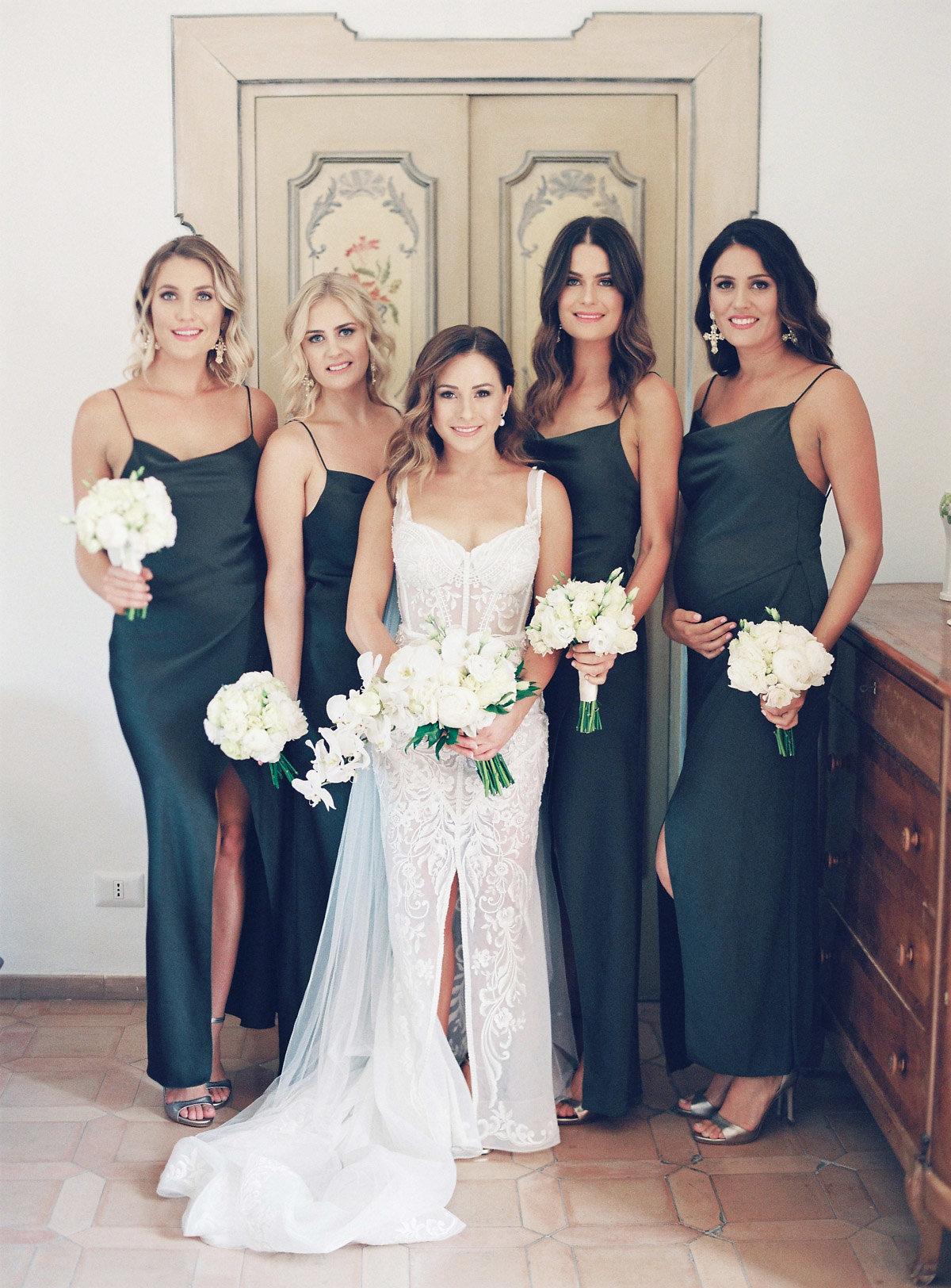 Amy & Bridesmaids // Photo: Katie Grant