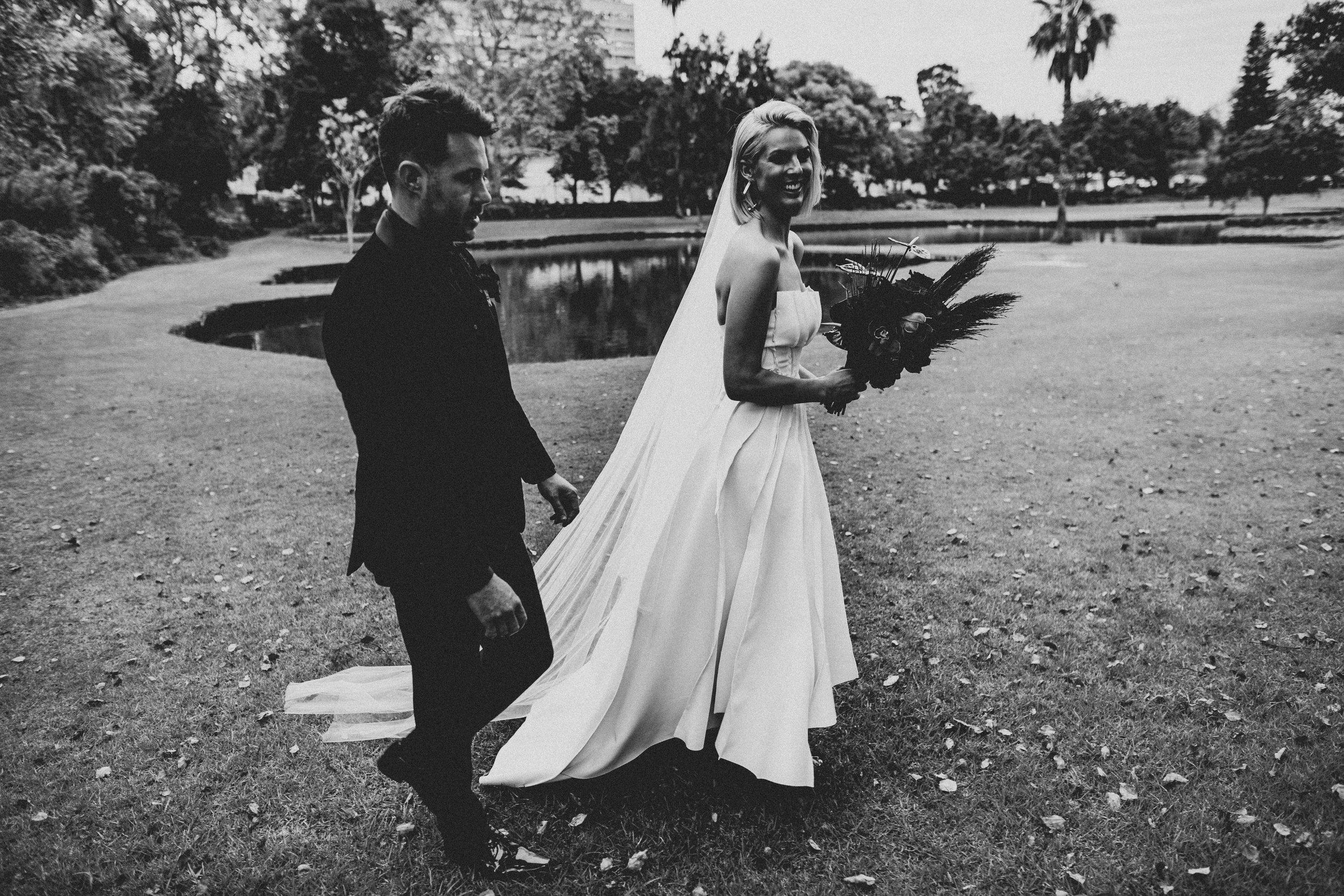 Courtney & Luke // Photo: Varga Murphy