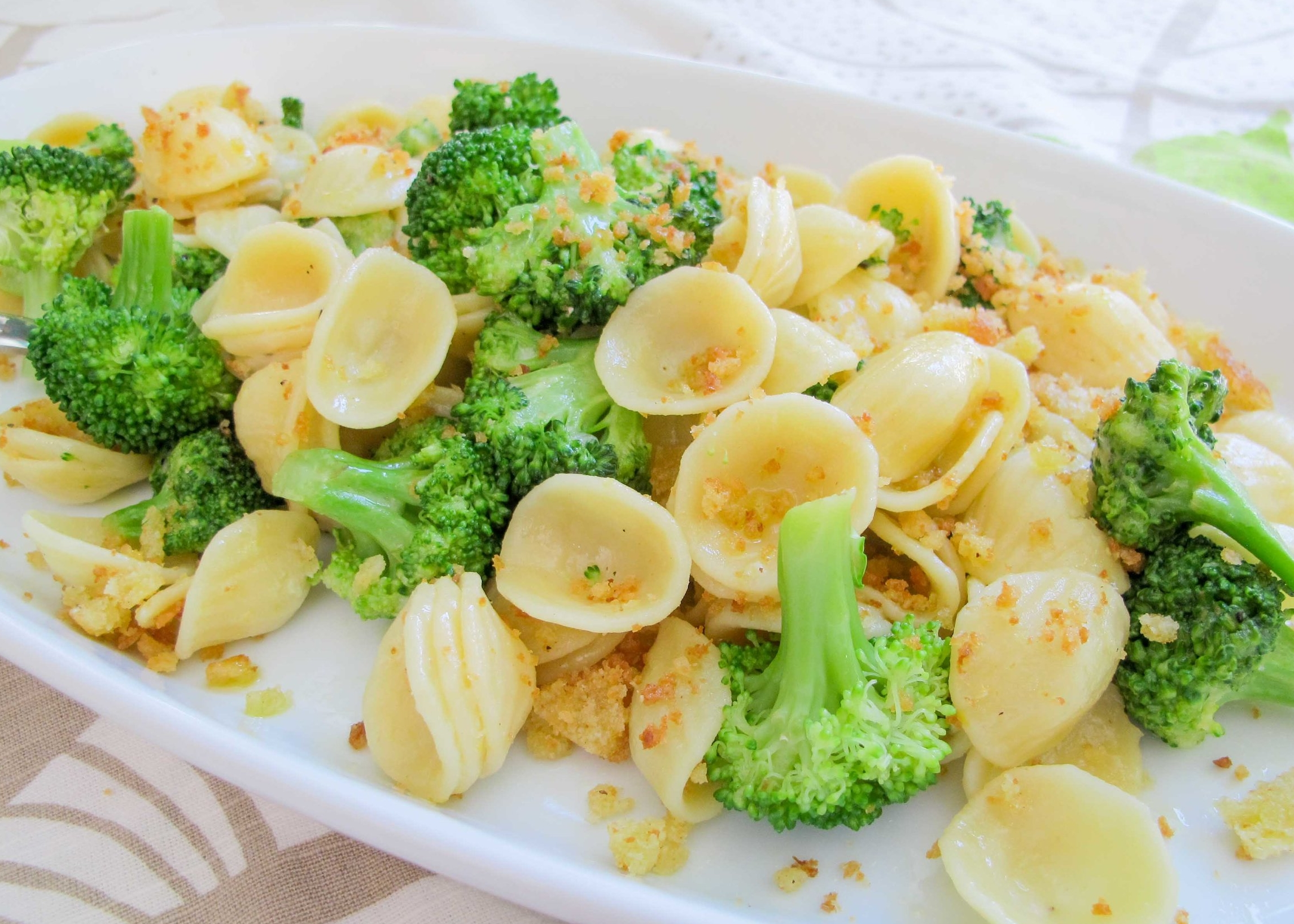 orecchiette with roasted broccoli
