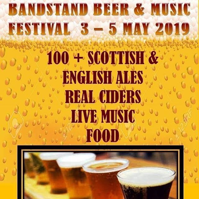 Don't miss the @bandstandbarnairn beer festival which kicks off tomorrow.... featuring our #saaziness and #hoppyness beers! 🍻