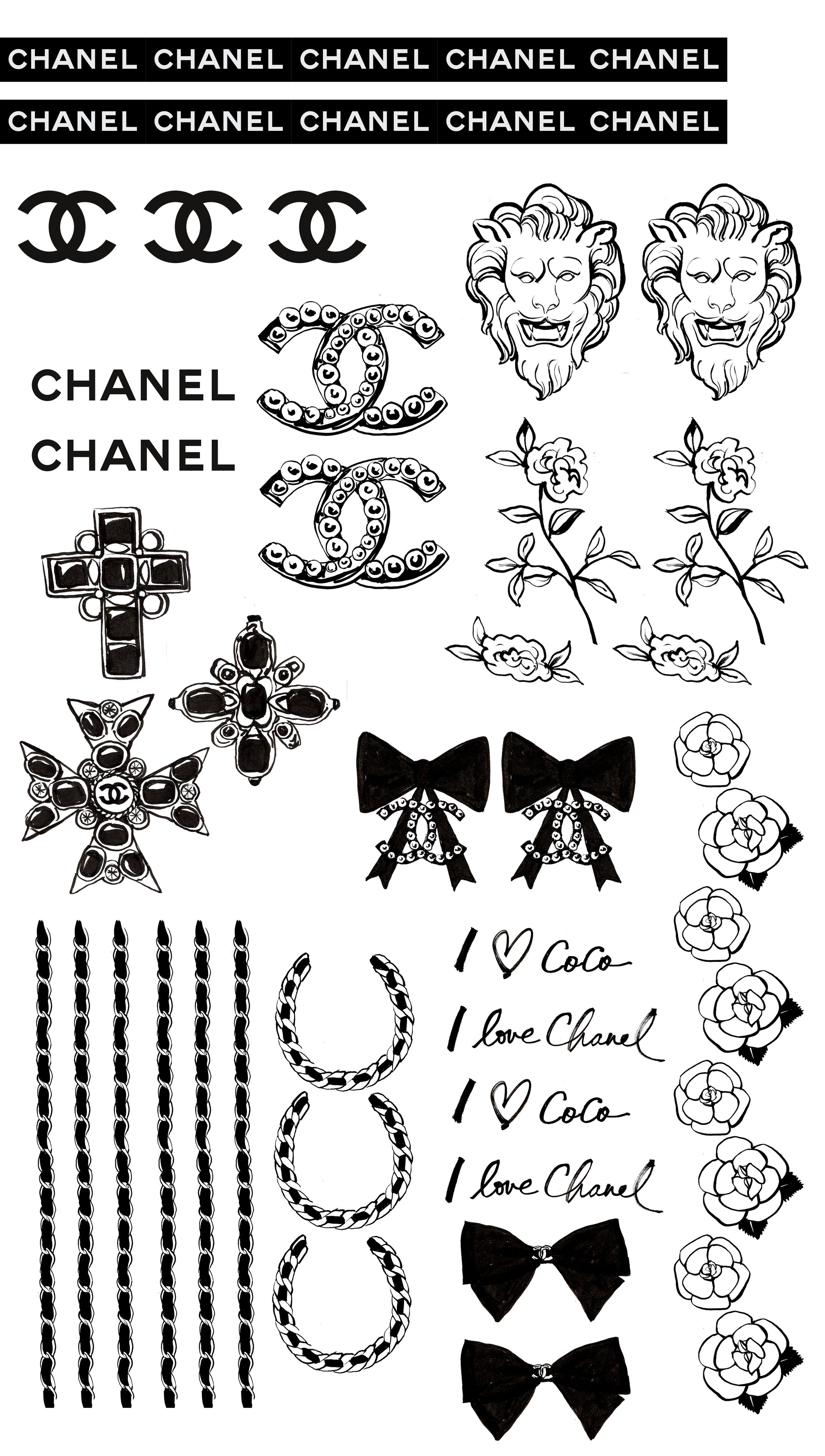 Chanel Nail Decals_ Illustrated by RY.jpg