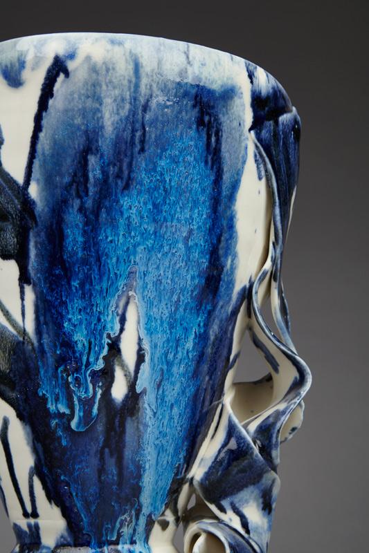 Detail Blue Vessel 2015