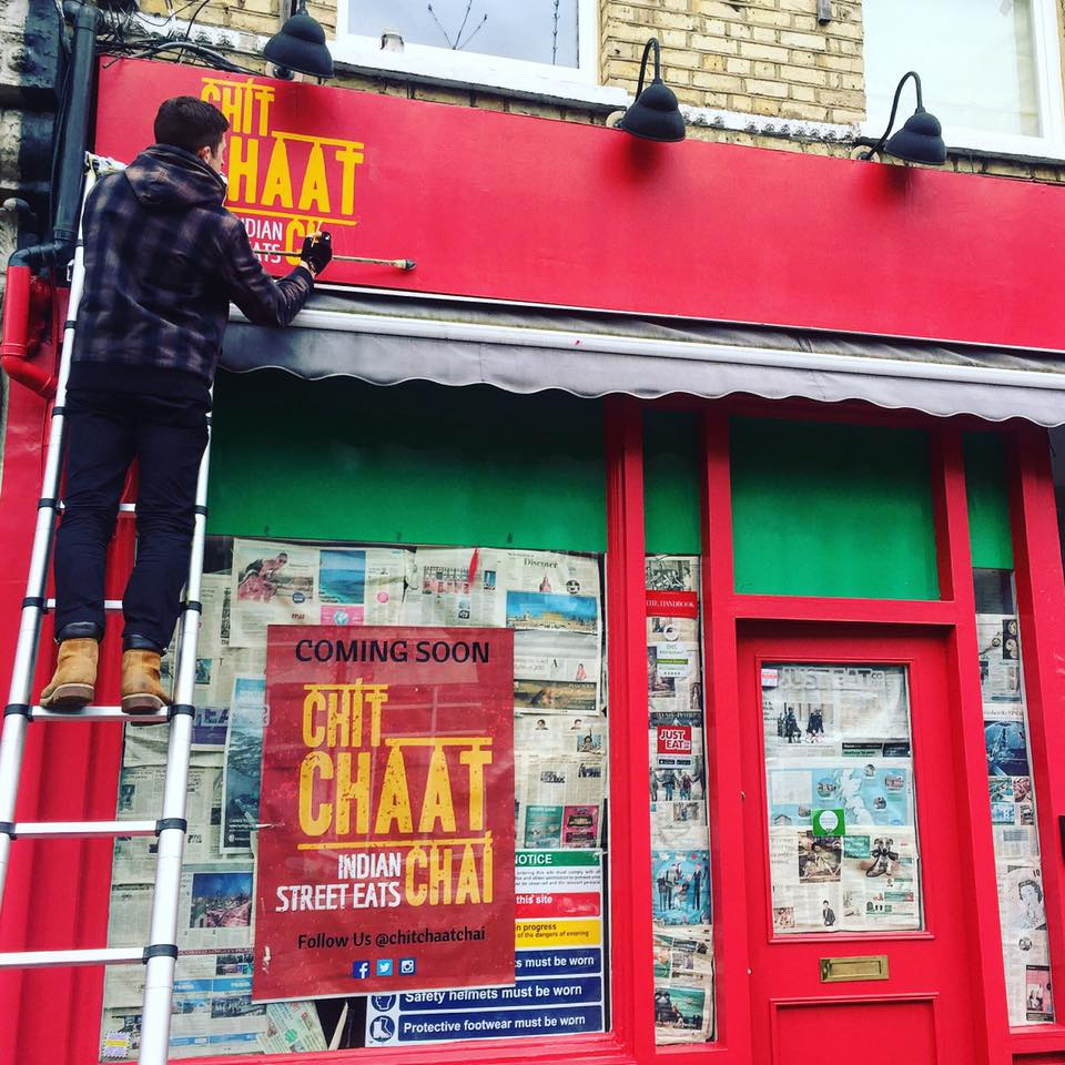 """This is unlike any Indian food we've ever tasted! Every bite hits you with a new flavour."" - Chit Chaat Chai, masters of the Indian Street Eat, just landed in Wandsworth, South London and opening soon with a fresh design from Avocado Sweets."