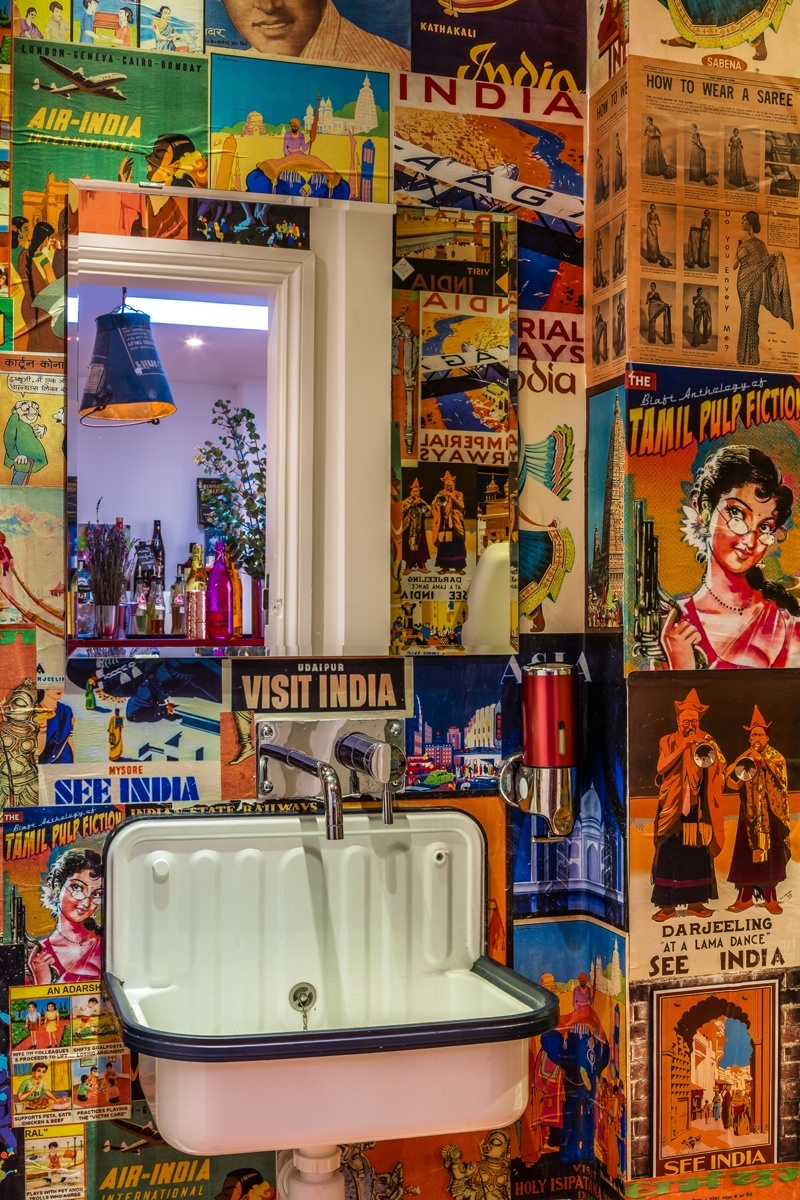 No area is overlooked when it come to colour and fun and that includes the toilets!
