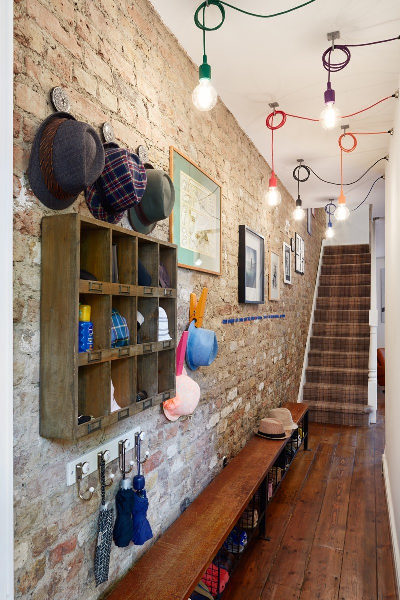 Our Islington Apartment entrance hall design also caught the imagination of the Houzz community to become one of the most popular images on the site.