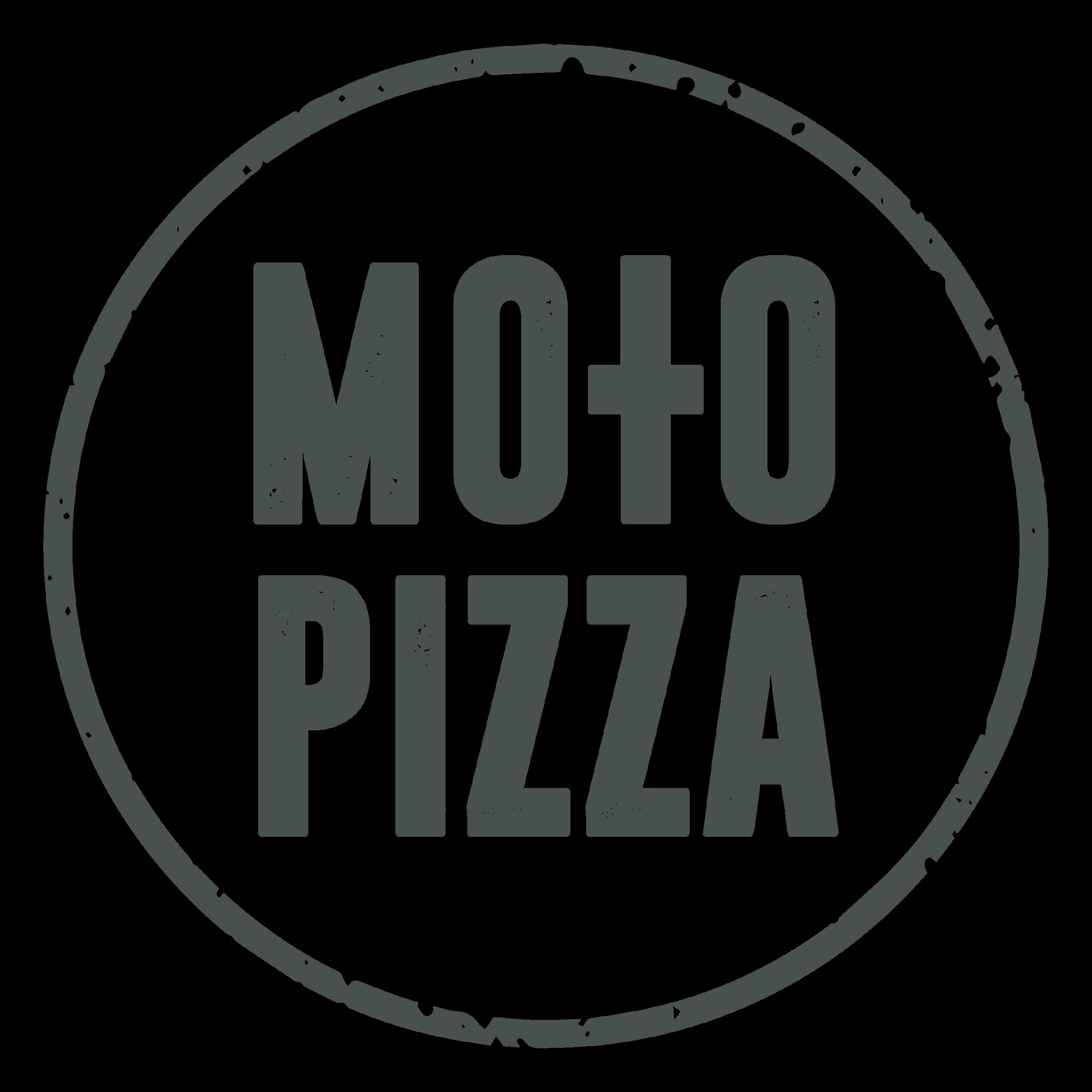 Moto Pizza Logo