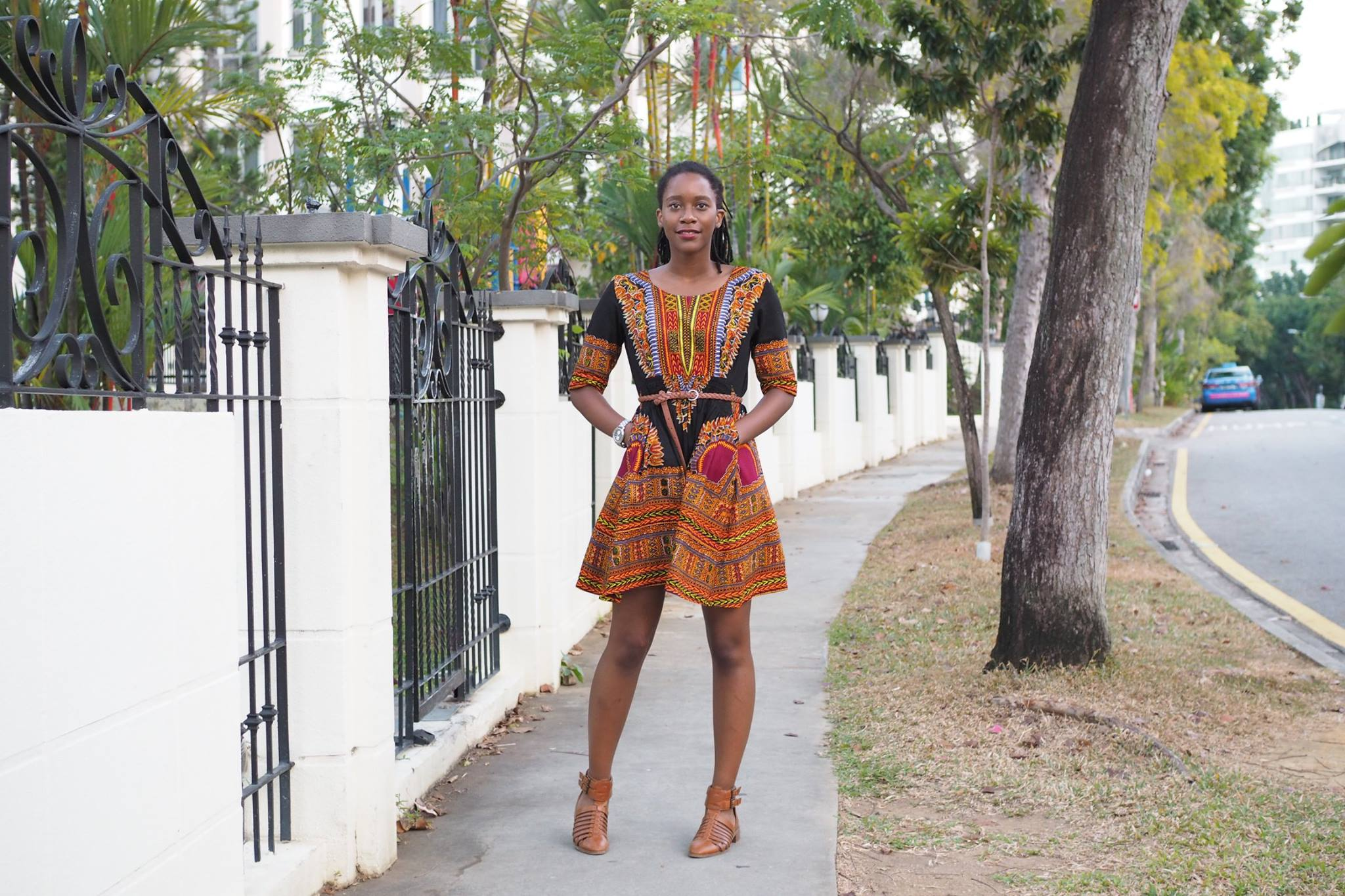 Dashiki Dress. Photo by Claris Liow.