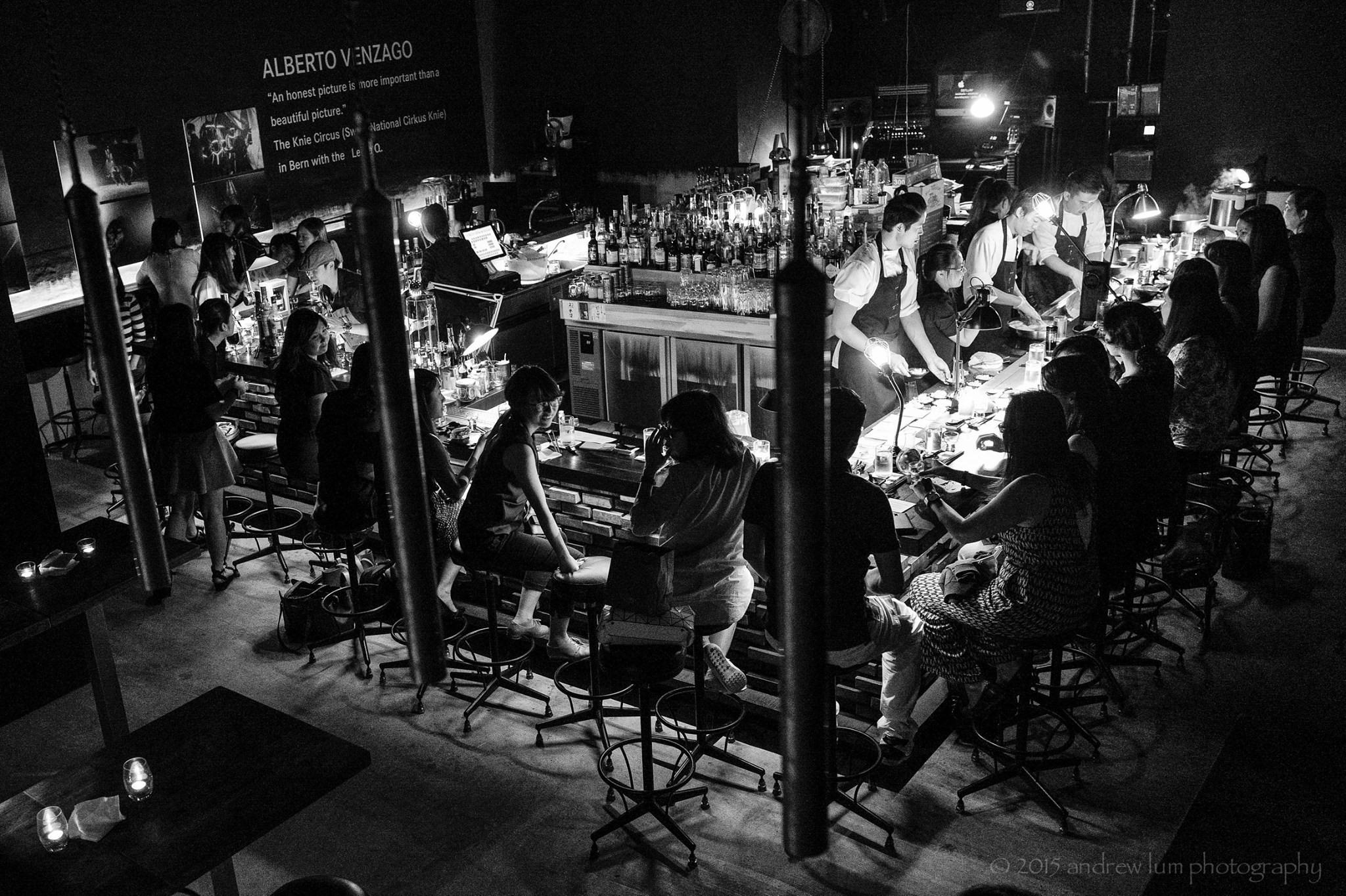 DSTLLRY Bar - Andrew Lum Photography