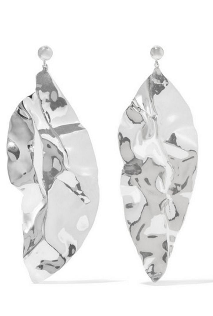 Sophie Buhai Wilke Hammered Earrings