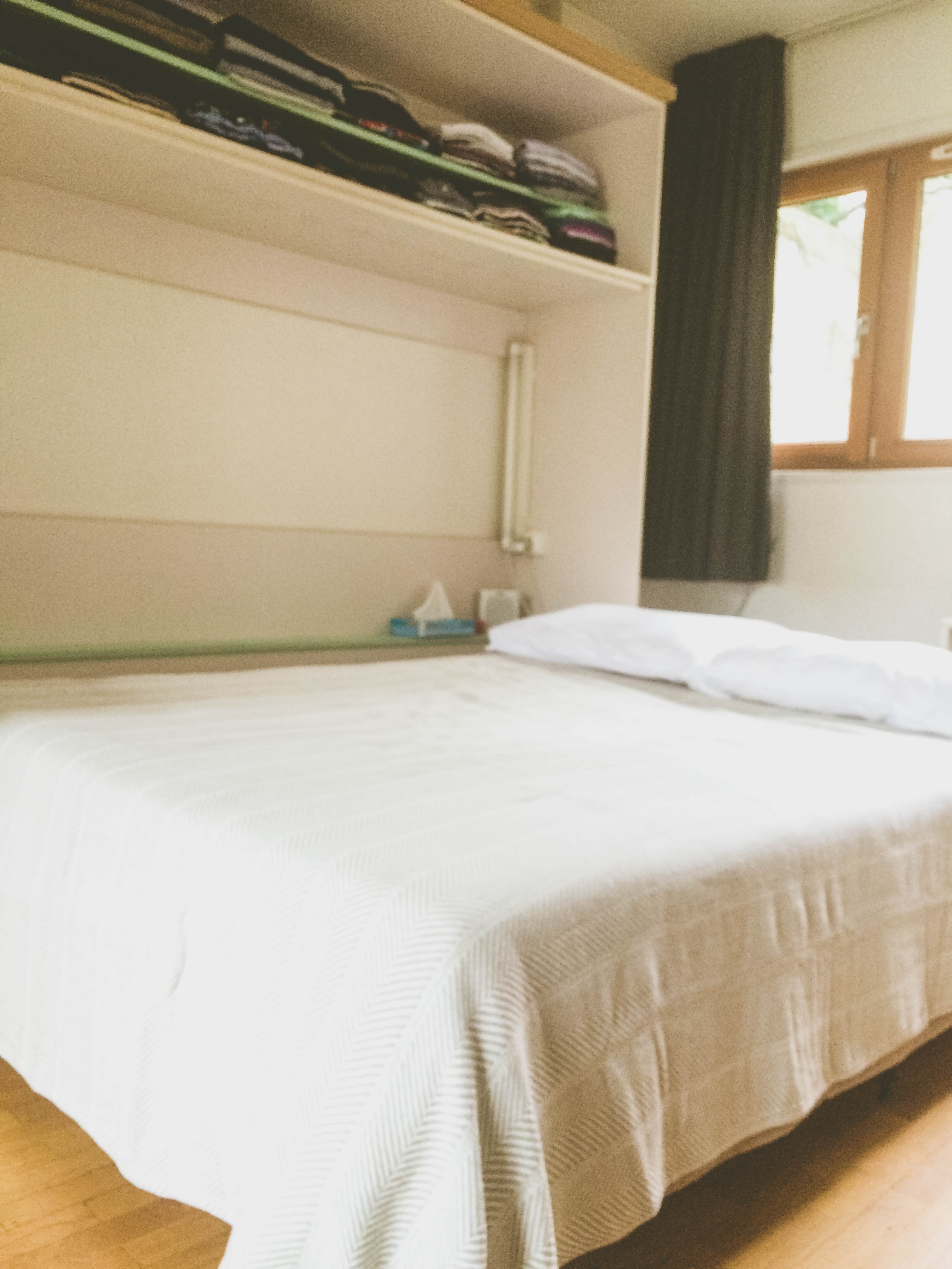 First Apartment in Paris: the murphy bed