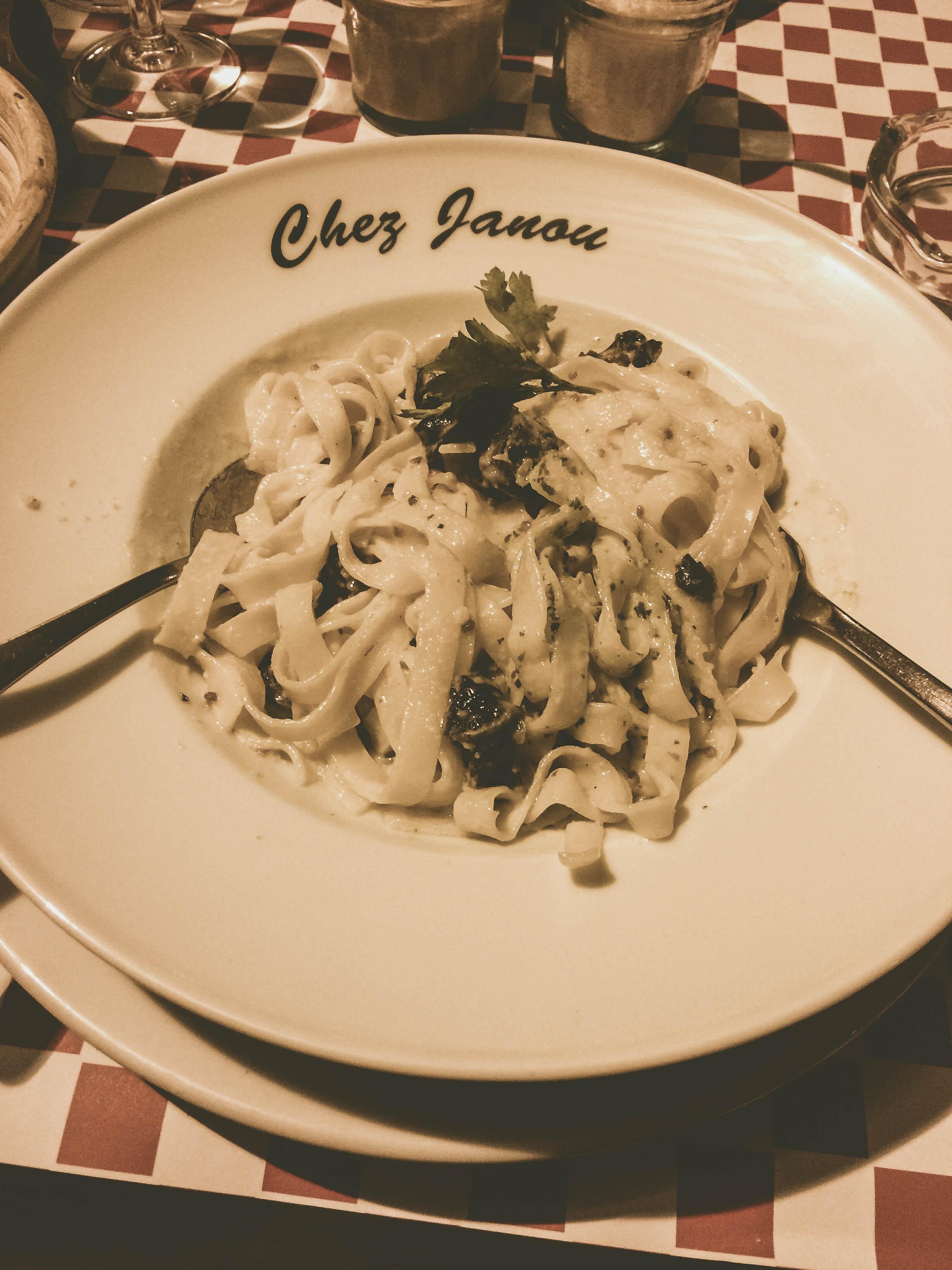 Chez Janou Dinner