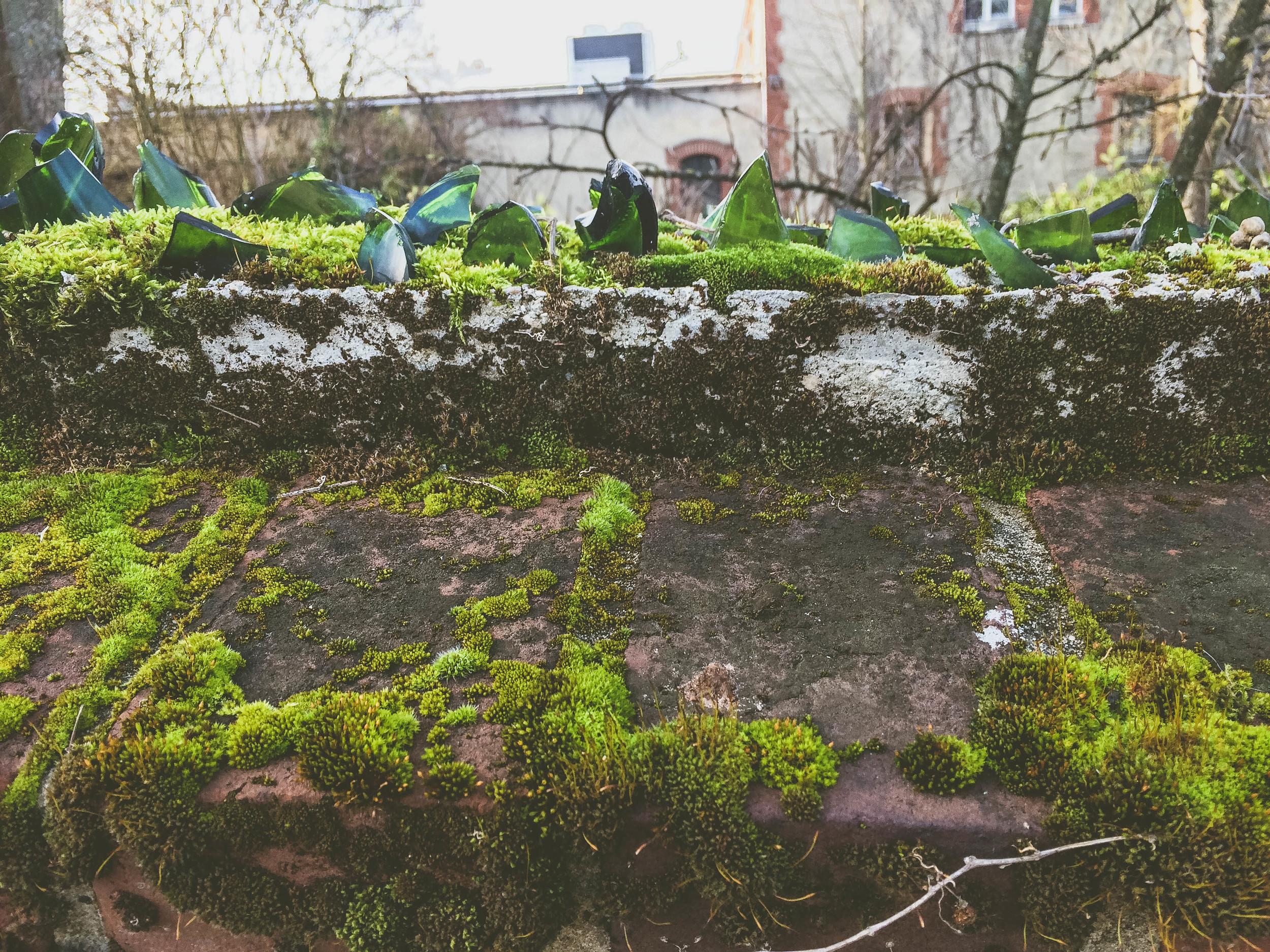 Épernay stone wall