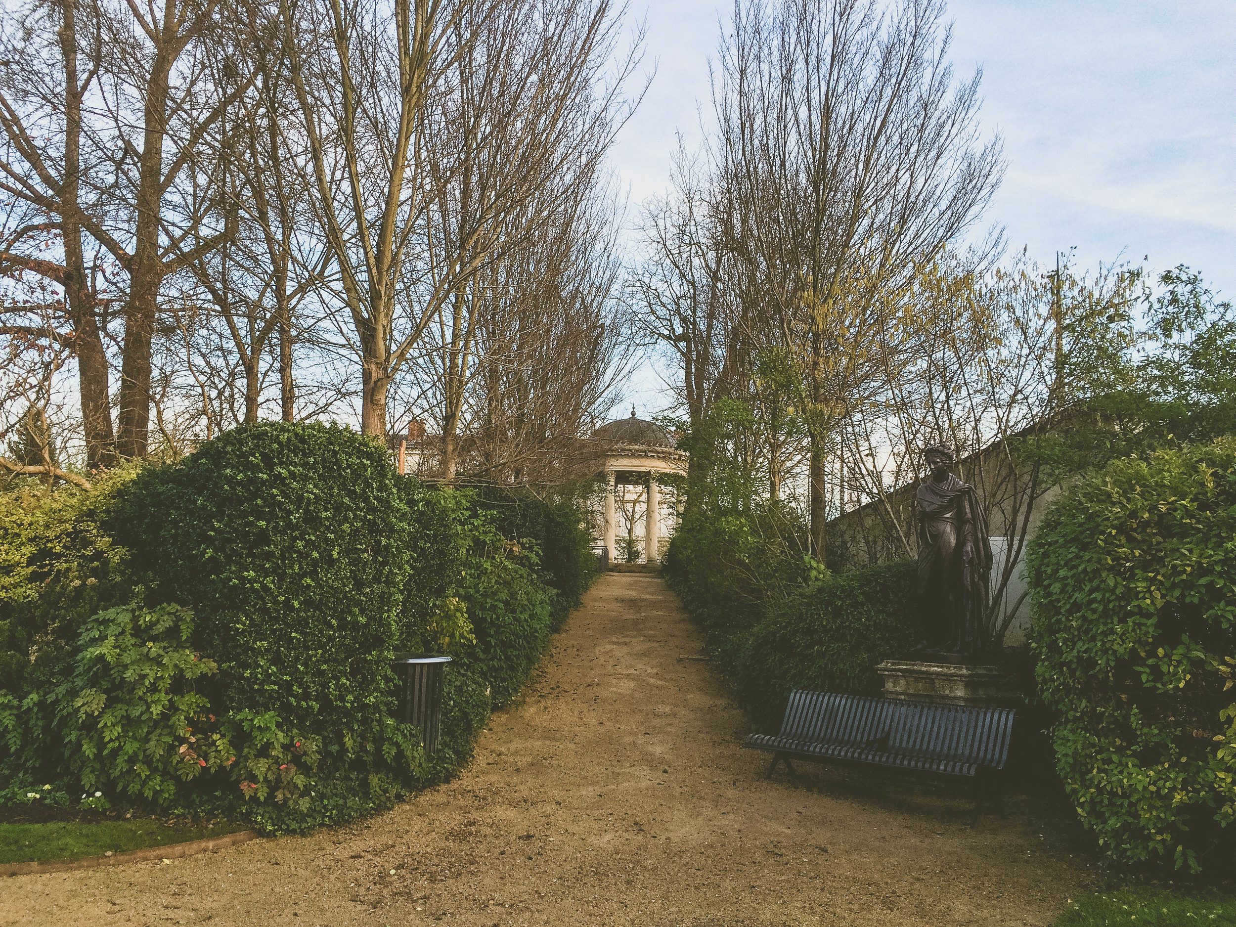 Garden, Épernay, France