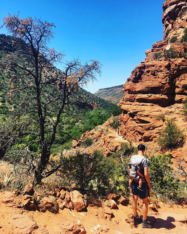 Took a hike. Learned some things. 🏜💦 💦