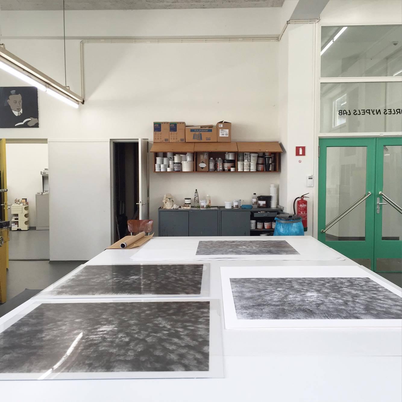 Black Mountain, Jan van Eyck Academie, 2016