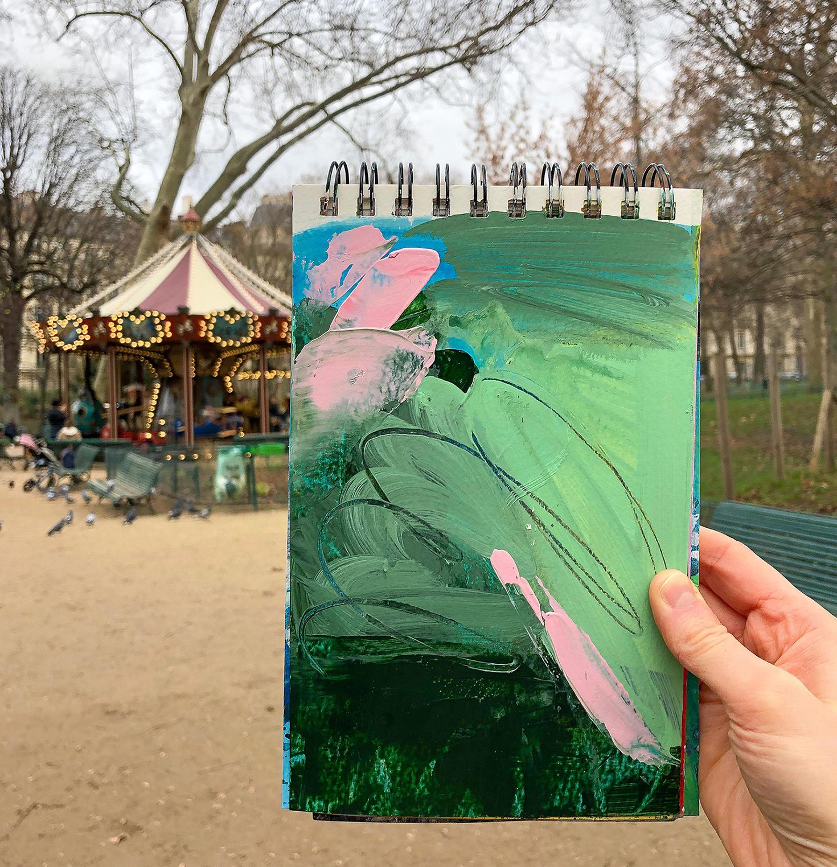 green_acrylic_sketch, carousel.jpg