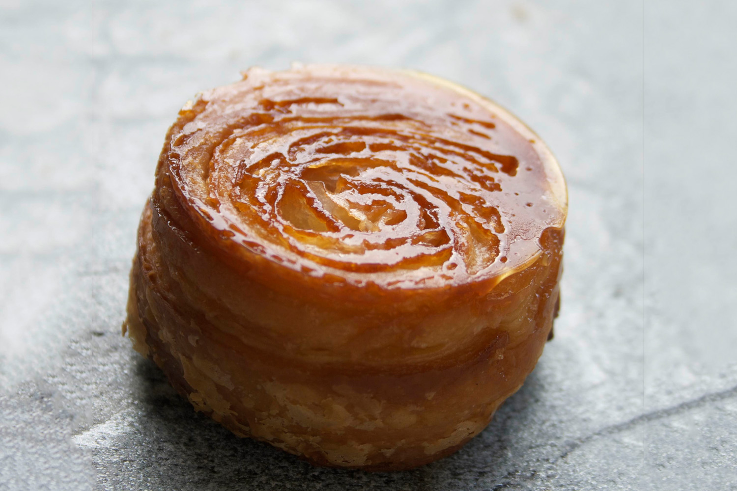 A Kouign-Amann from Yeast Bakery