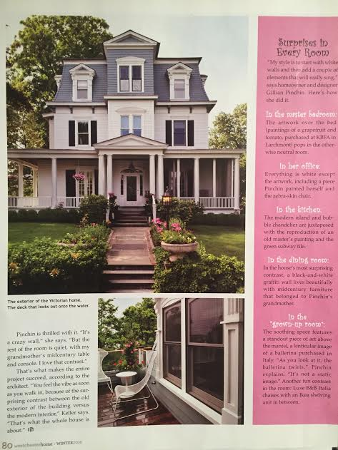 Westchester Home Magazine Winter 2016 , Pinchin House,  Page 80
