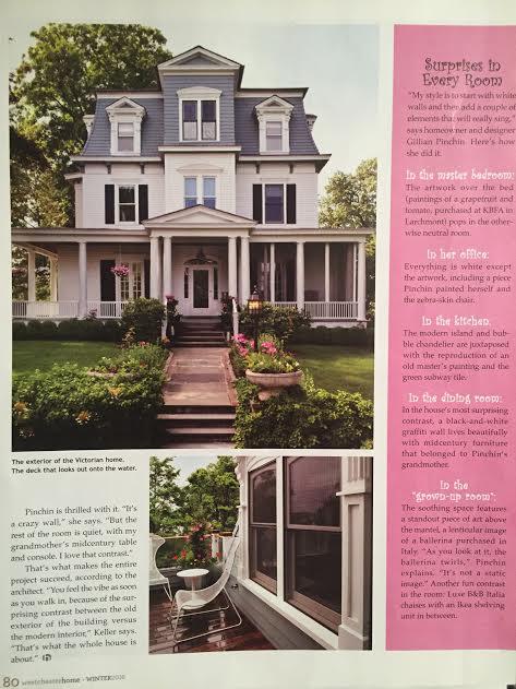 Westchester Home Magazine Winter 2016 , Pinchin House, Page 80