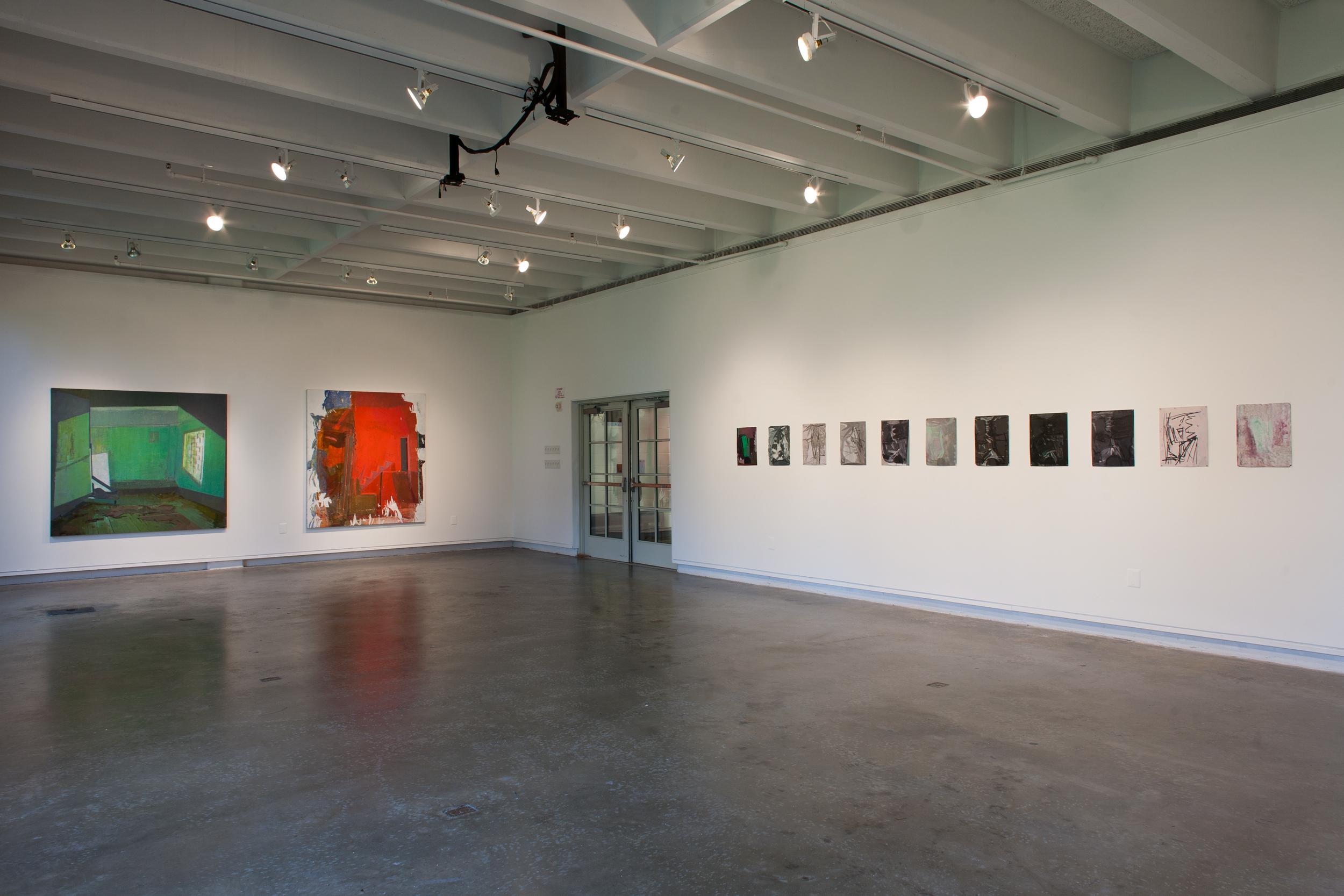 here (solo exhibition)  Aug 30 - Oct 7, 2016 Korn Gallery Drew University, Madison, NJ