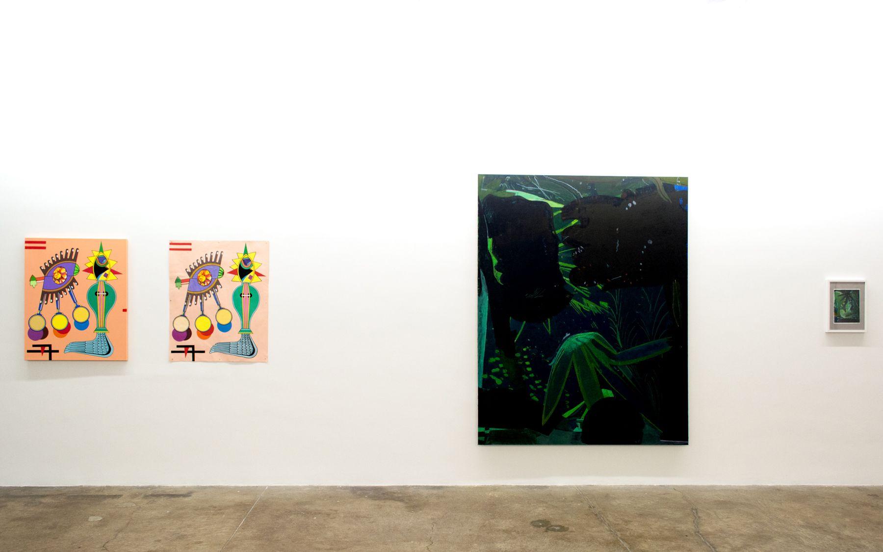 Rough Cut  Curated by Jennifer Samet and Elizabeth Hazan January 8 – February 7, 2015 Morgan Lehman Gallery, NY, NY