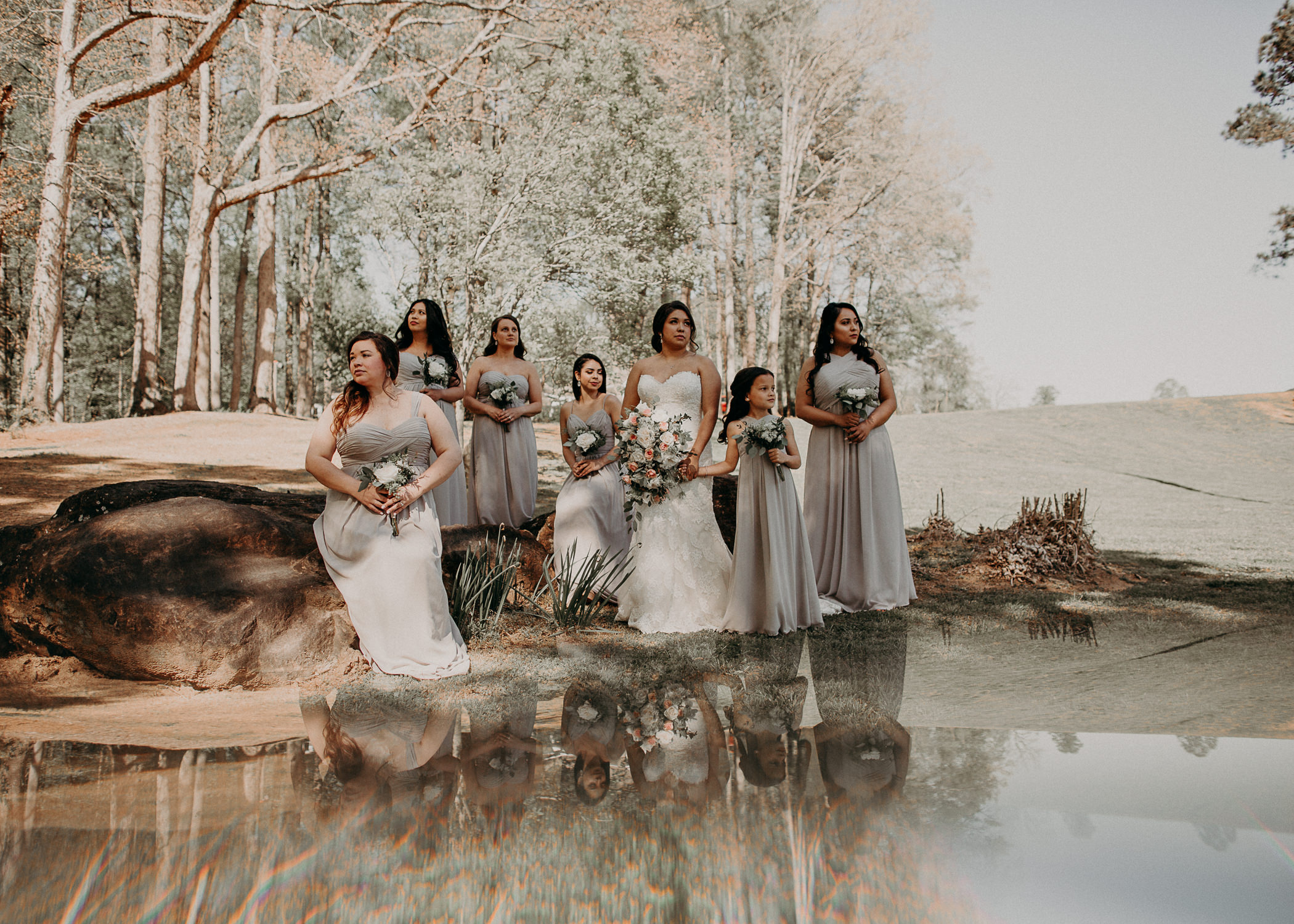 22  - Little River Farms - first look - Atlanta - Wedding Venue - Atlanta Wedding Photographer - Georgia weddings details wedding dress shoes gather groom bridal party .jpg