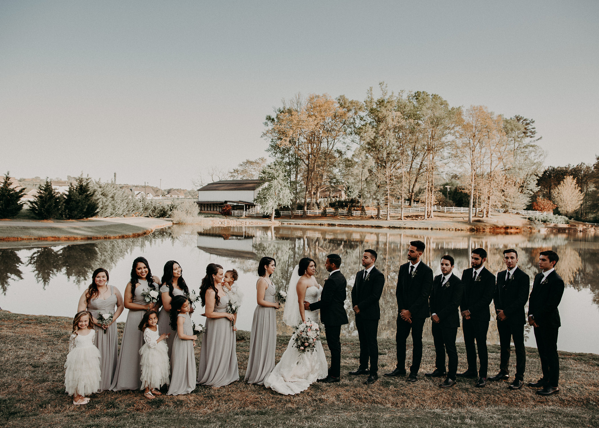 44  - Little River Farms - first look - Atlanta - Wedding Venue - Atlanta Wedding Photographer - Georgia weddings details wedding dress shoes gather groom bridal party .jpg
