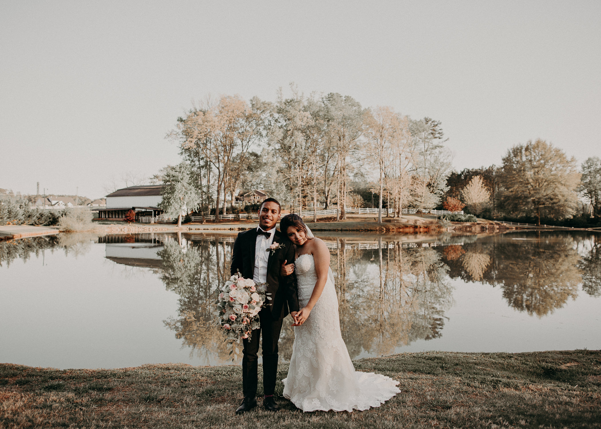 50  - Little River Farms - first look - Atlanta - Wedding Venue - Atlanta Wedding Photographer - Georgia weddings details wedding dress shoes gather groom bridal party .jpg