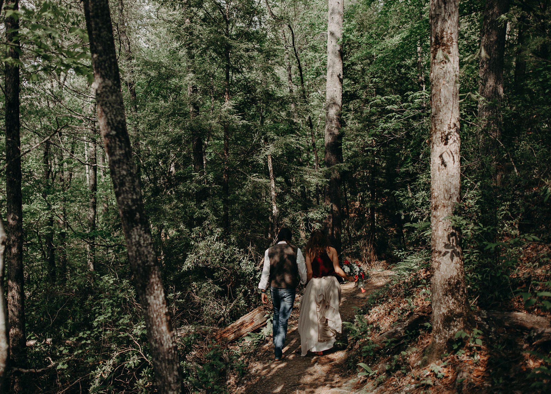 50- Forest wedding boho enchanched fairytale wedding atlanta - ga , intimate, elopement, nature, greens, good vibes. Aline Marin Photography .jpg
