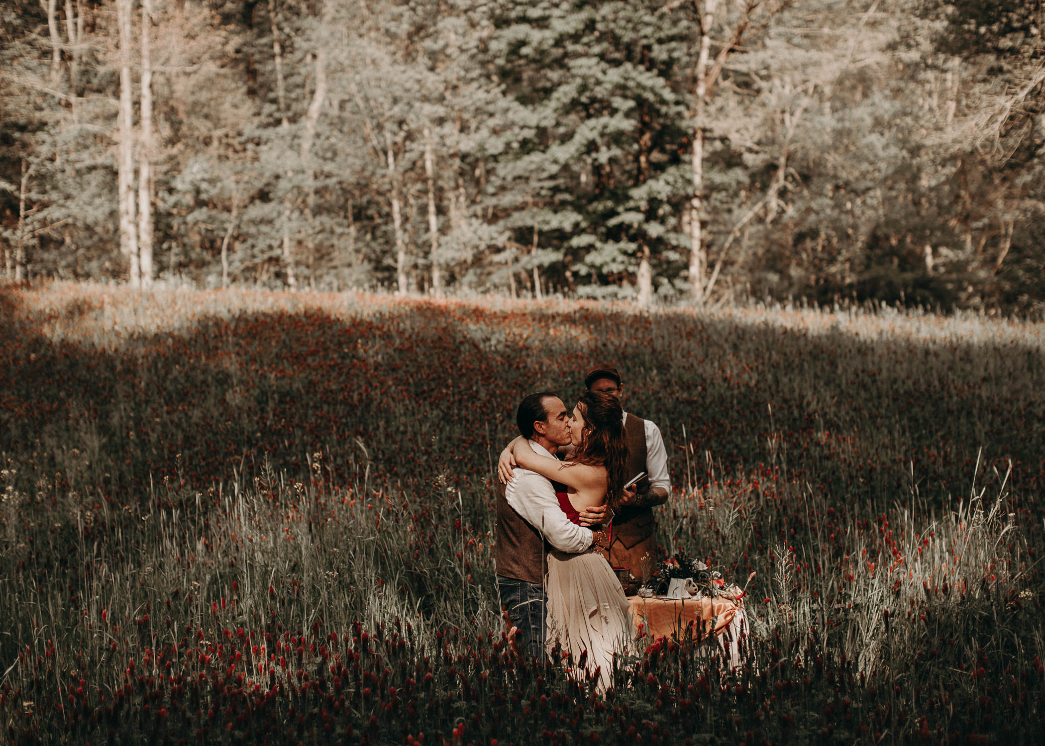 65- Forest wedding boho enchanched fairytale wedding atlanta - ga , intimate, elopement, nature, greens, good vibes. Aline Marin Photography .jpg