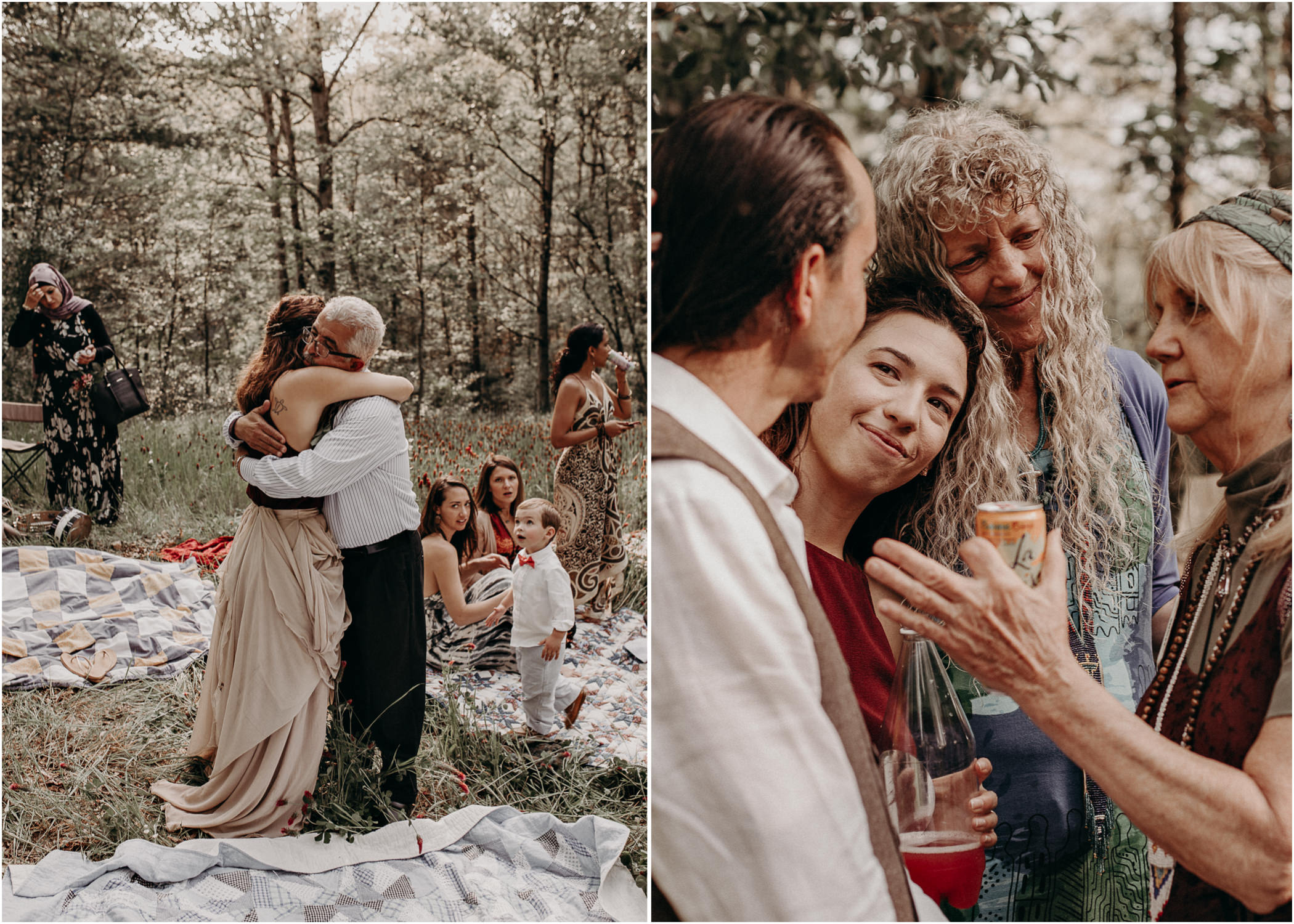 68- Forest wedding boho enchanched fairytale wedding atlanta - ga , intimate, elopement, nature, greens, good vibes. Aline Marin Photography .jpg
