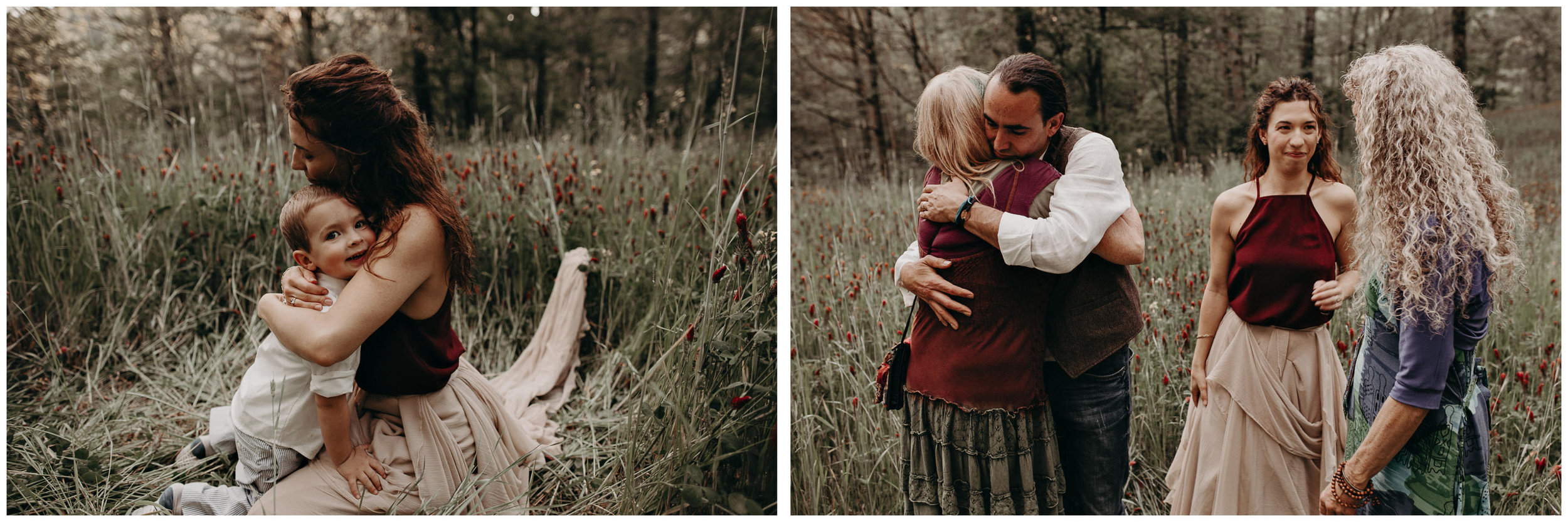 78- Forest wedding boho enchanched fairytale wedding atlanta - ga , intimate, elopement, nature, greens, good vibes. Aline Marin Photography .jpg