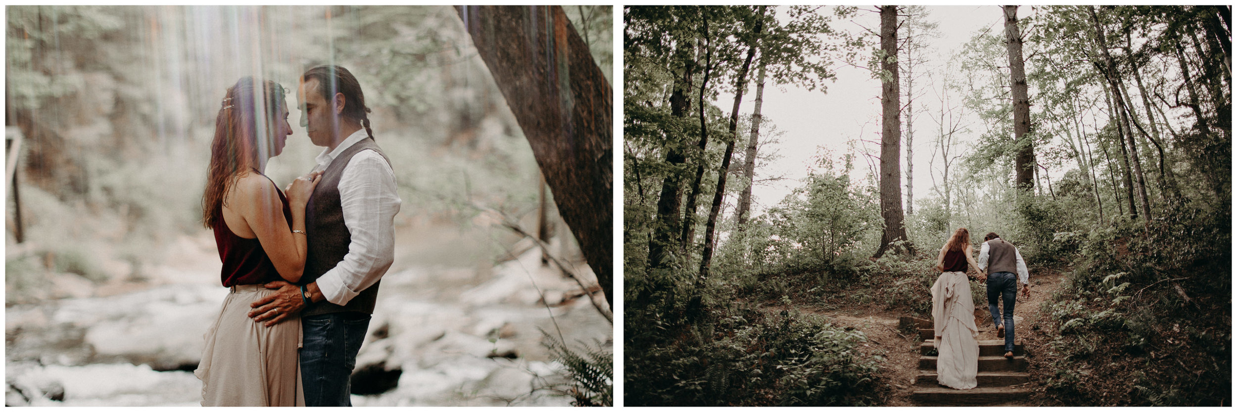88- Forest wedding boho enchanched fairytale wedding atlanta - ga , intimate, elopement, nature, greens, good vibes. Aline Marin Photography .jpg
