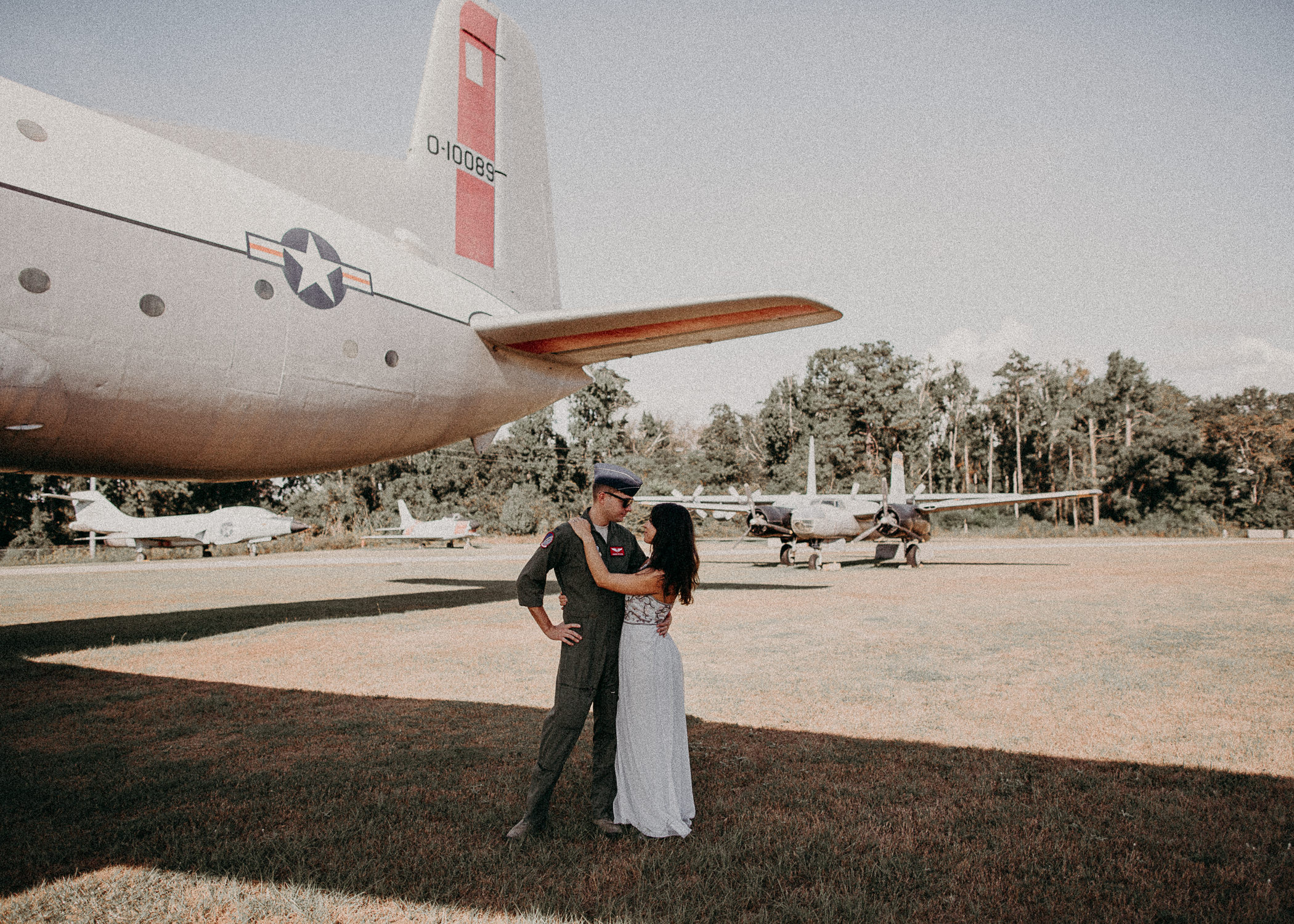 22 Museum of aviation engagement shoot - preview - Aline Marin Atlanta Photographer .jpg