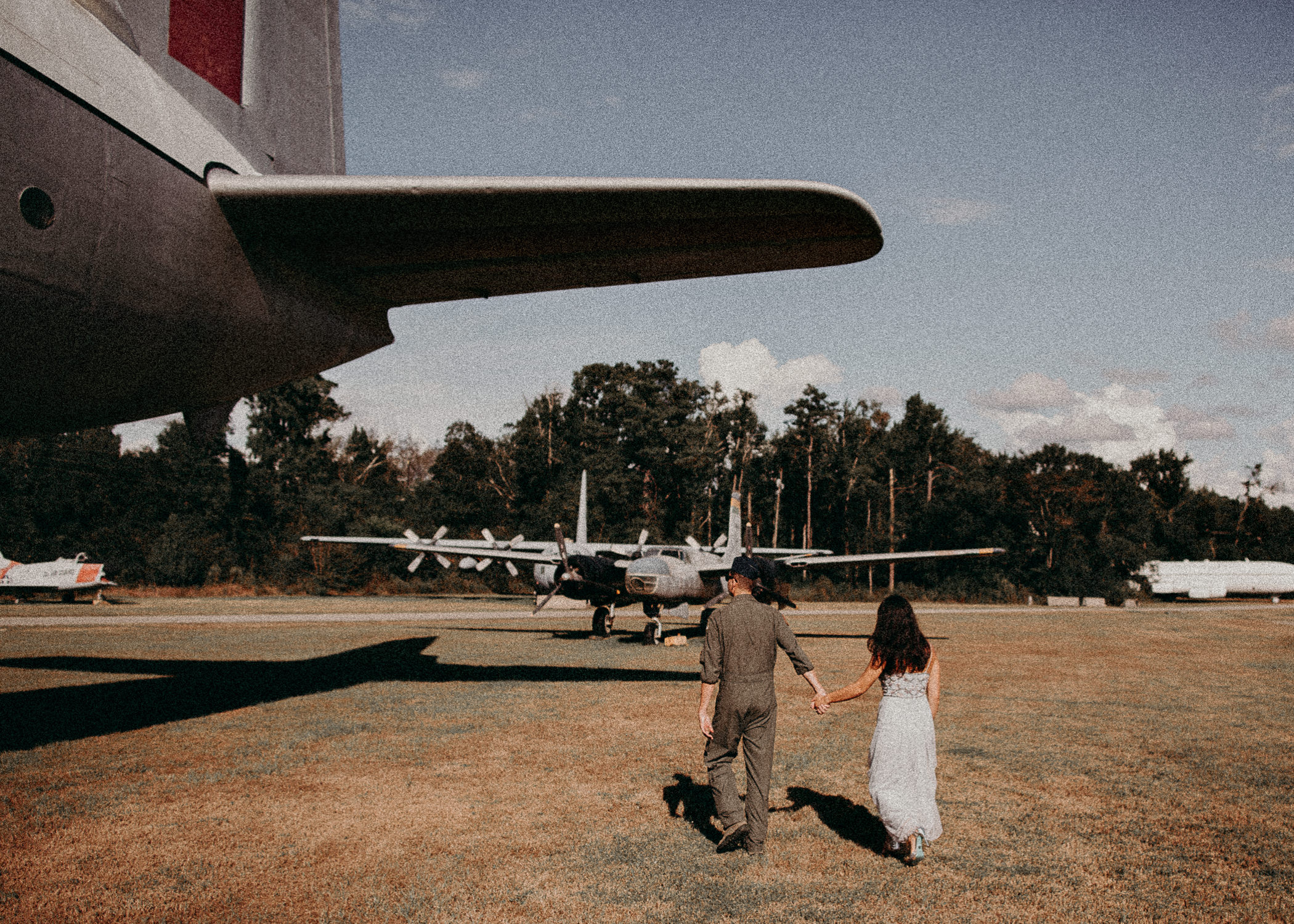 26 Museum of aviation engagement shoot - preview - Aline Marin Atlanta Photographer .jpg