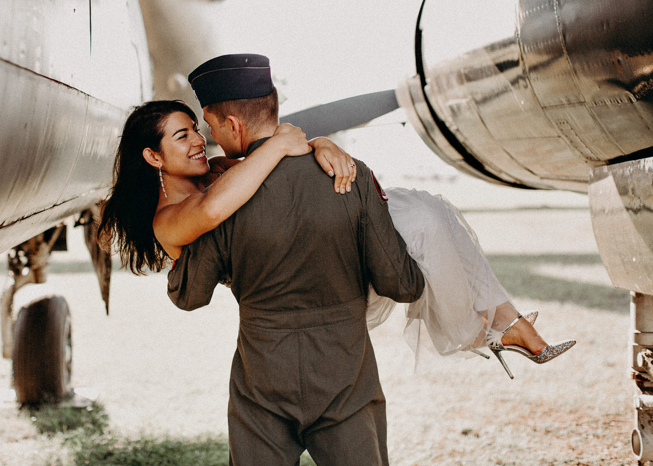 27 Museum of aviation engagement shoot - preview - Aline Marin Atlanta Photographer .jpg
