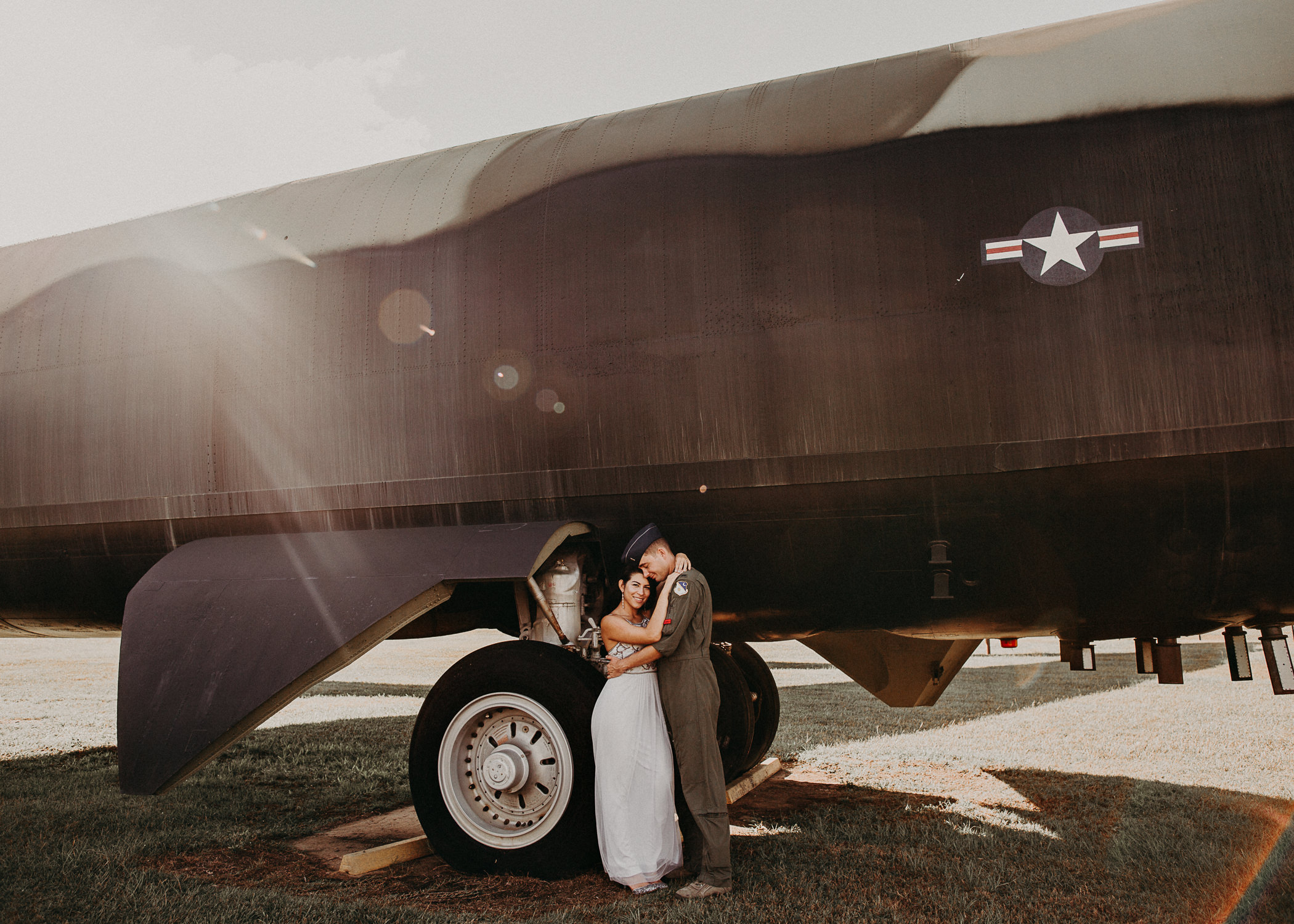 34 Museum of aviation engagement shoot - preview - Aline Marin Atlanta Photographer .jpg