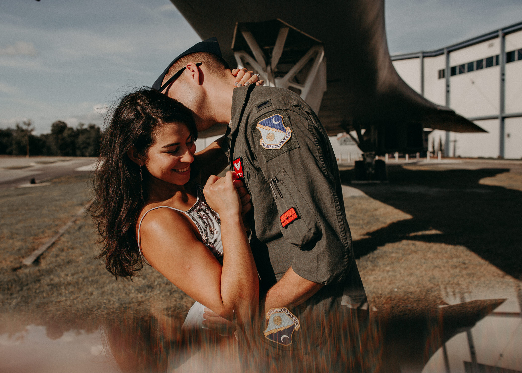 35 Museum of aviation engagement shoot - preview - Aline Marin Atlanta Photographer .jpg