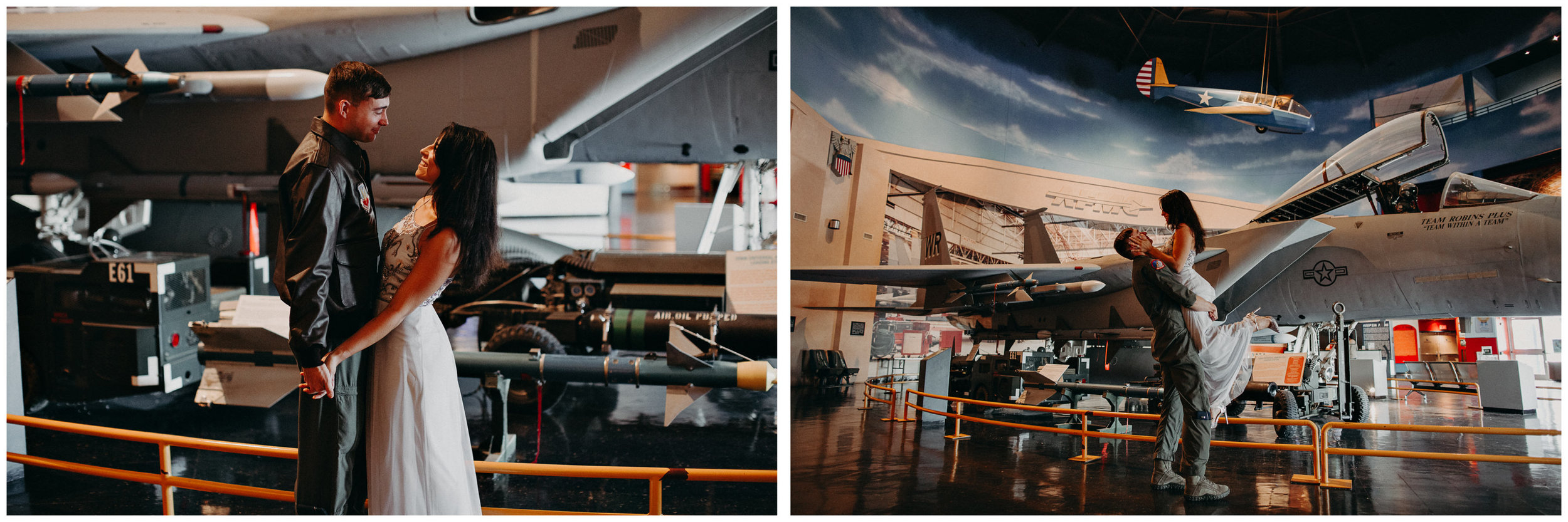 4 Museum of aviation engagement shoot - preview - Aline Marin Atlanta Photographer .jpg