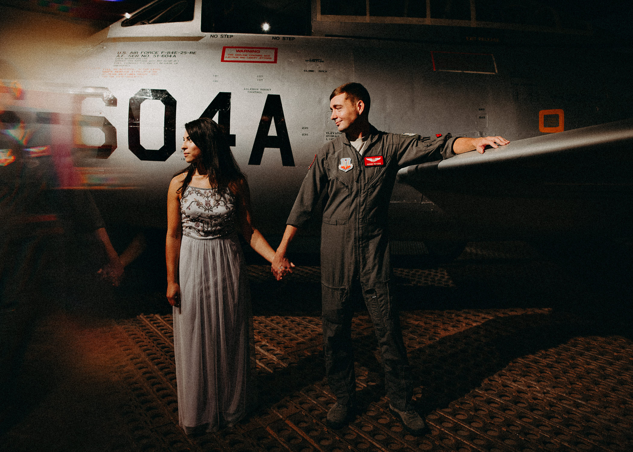 7 Museum of aviation engagement shoot - preview - Aline Marin Atlanta Photographer .jpg