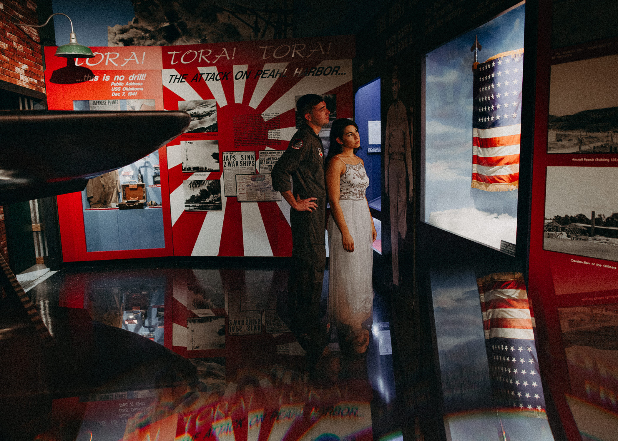 14 Museum of aviation engagement shoot - preview - Aline Marin Atlanta Photographer .jpg