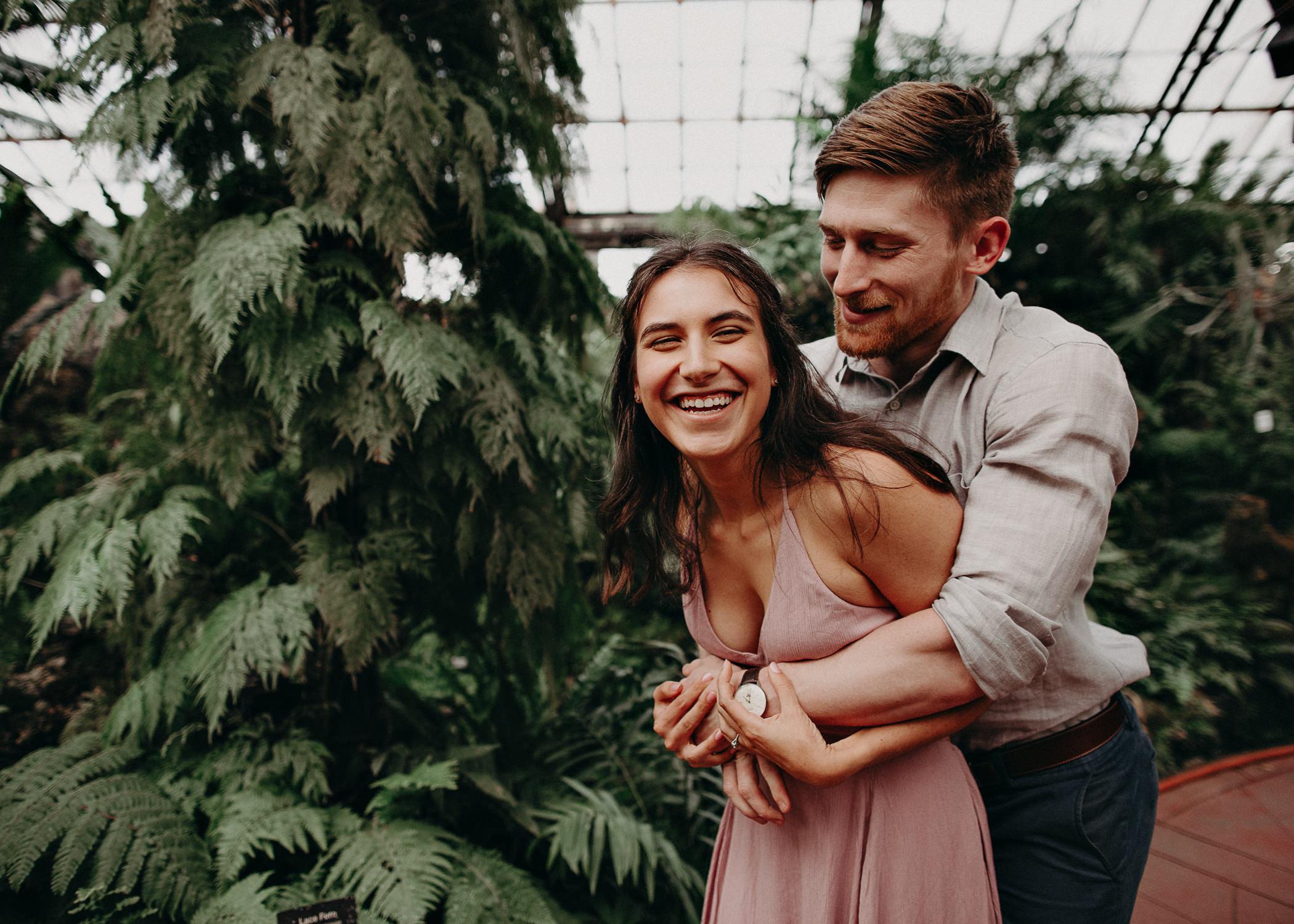 1 - Chicago engagement wedding photographer - Aline Marin Photography.jpg